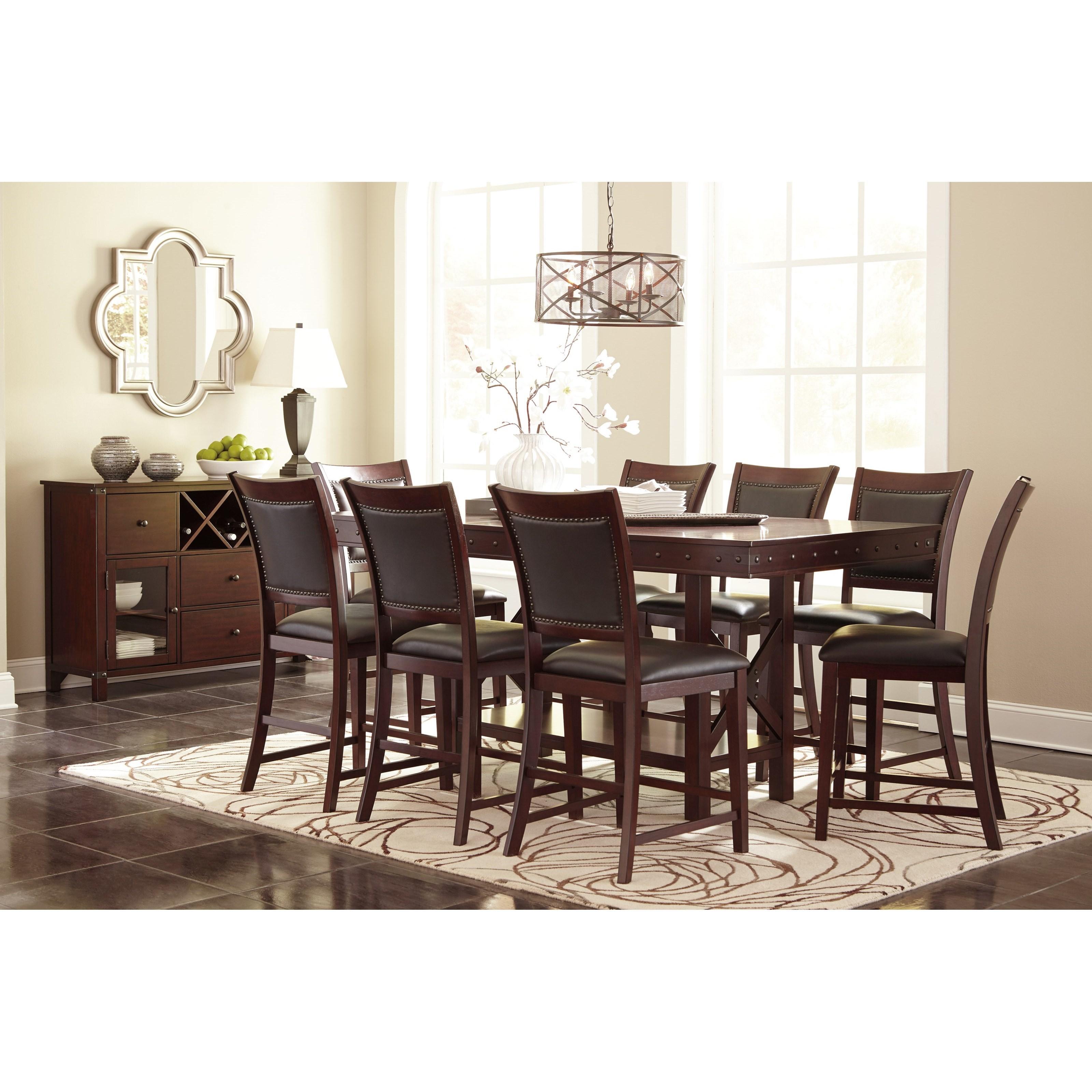 Signature design by ashley collenburg d564 124 upholstered for Furniture 124