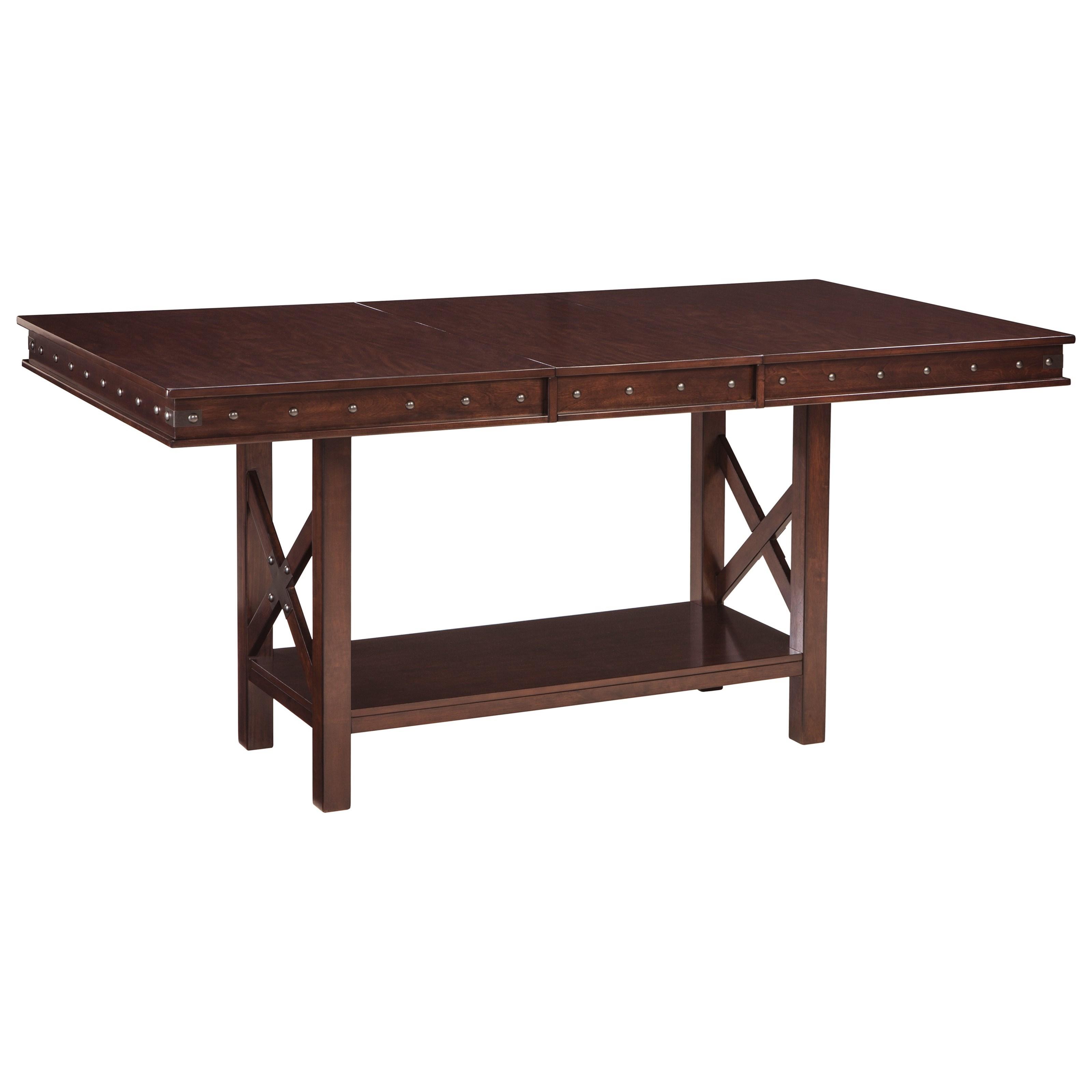 ashley signature design collenburg d564 32 rectangular dining counter extension table dunk. Black Bedroom Furniture Sets. Home Design Ideas