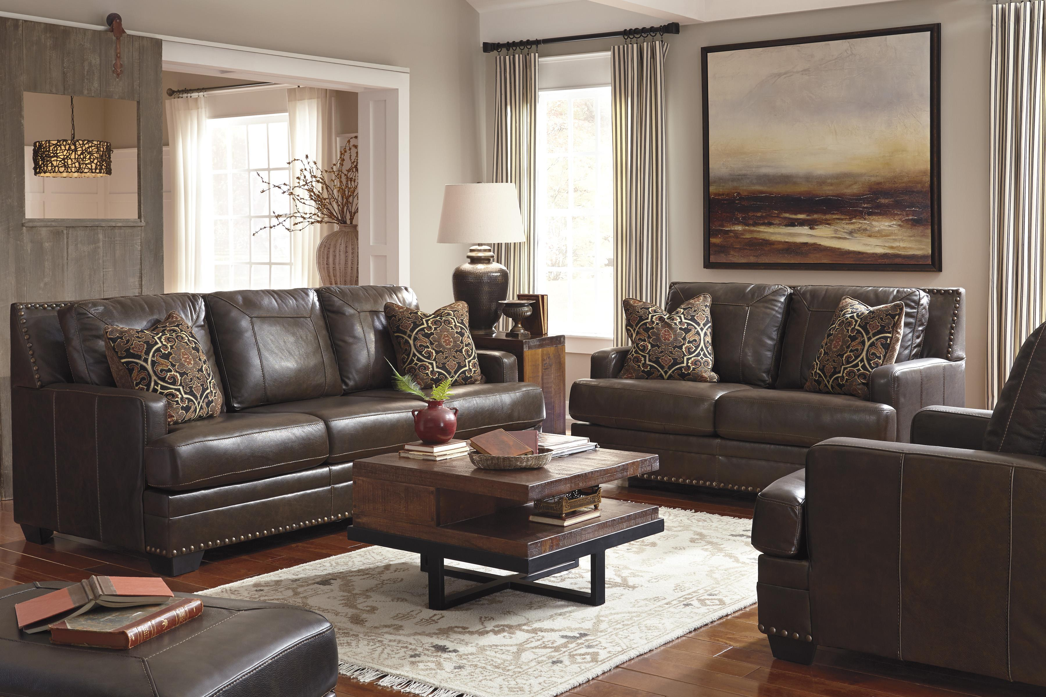 Signature Design by Ashley Corvan Stationary Living Room