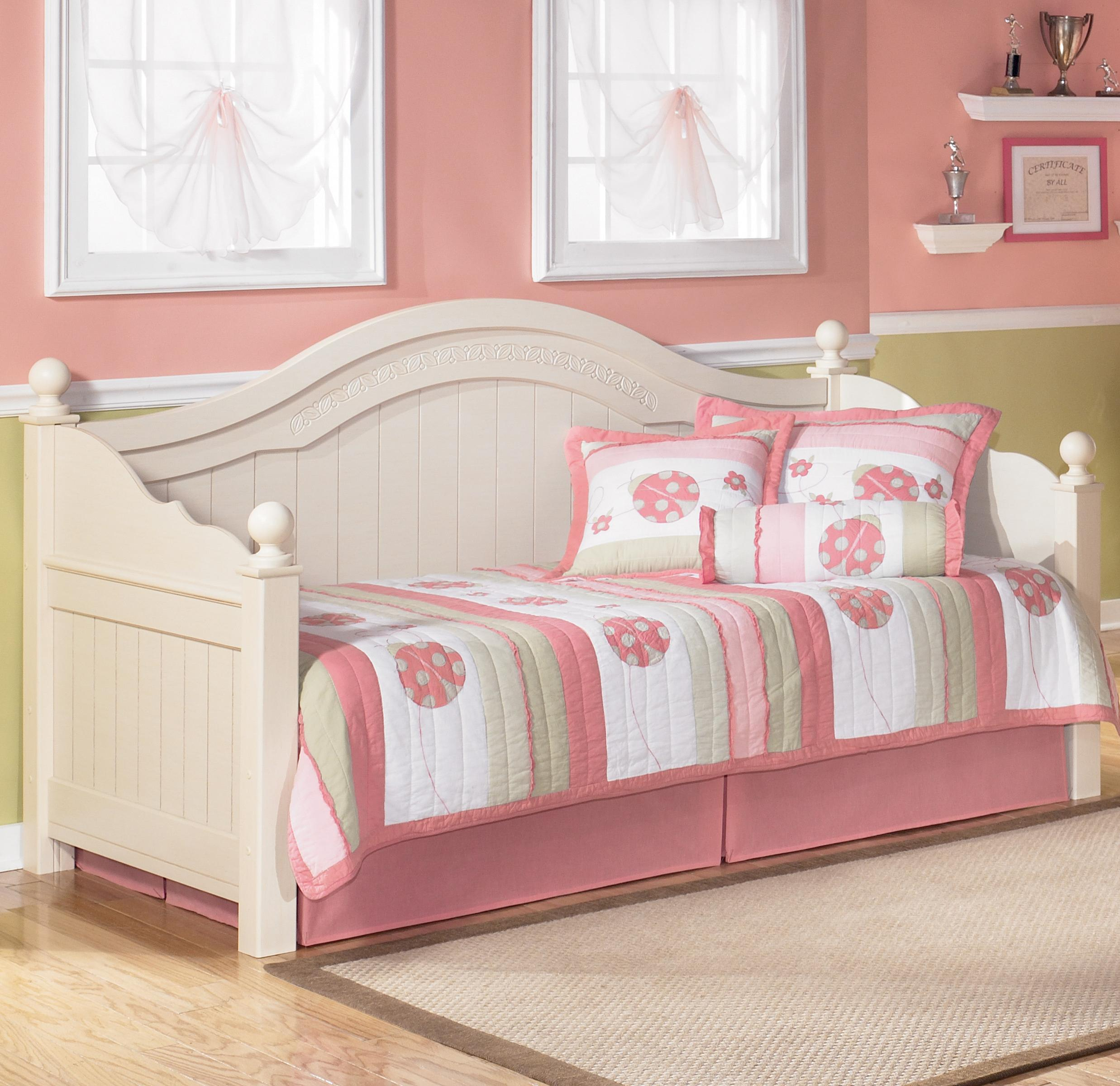 Signature design by ashley cottage retreat day bed household furniture daybed Cottage retreat collection bedroom furniture