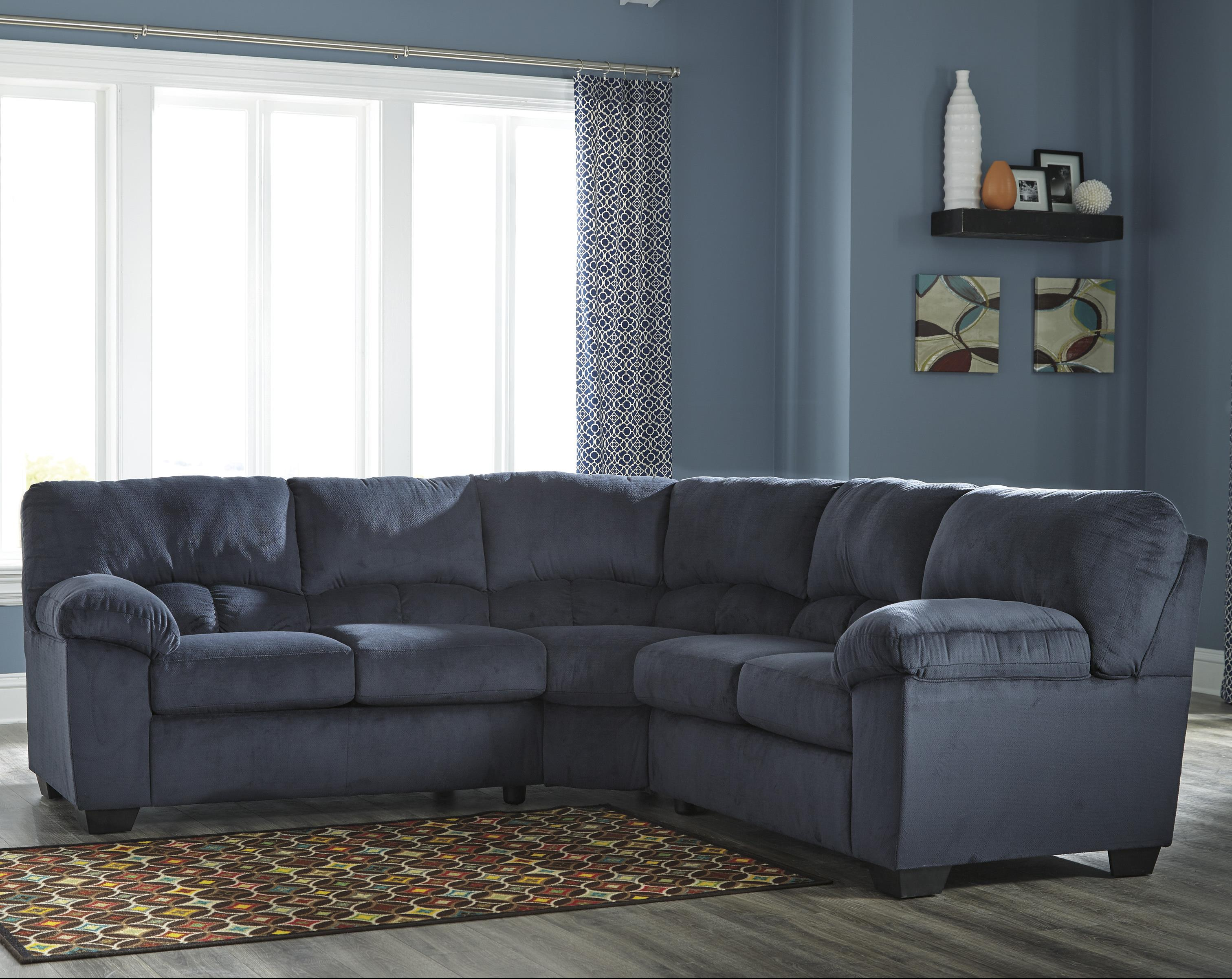 Ashley signature design dailey casual contemporary for Sectional sofas by ashley furniture