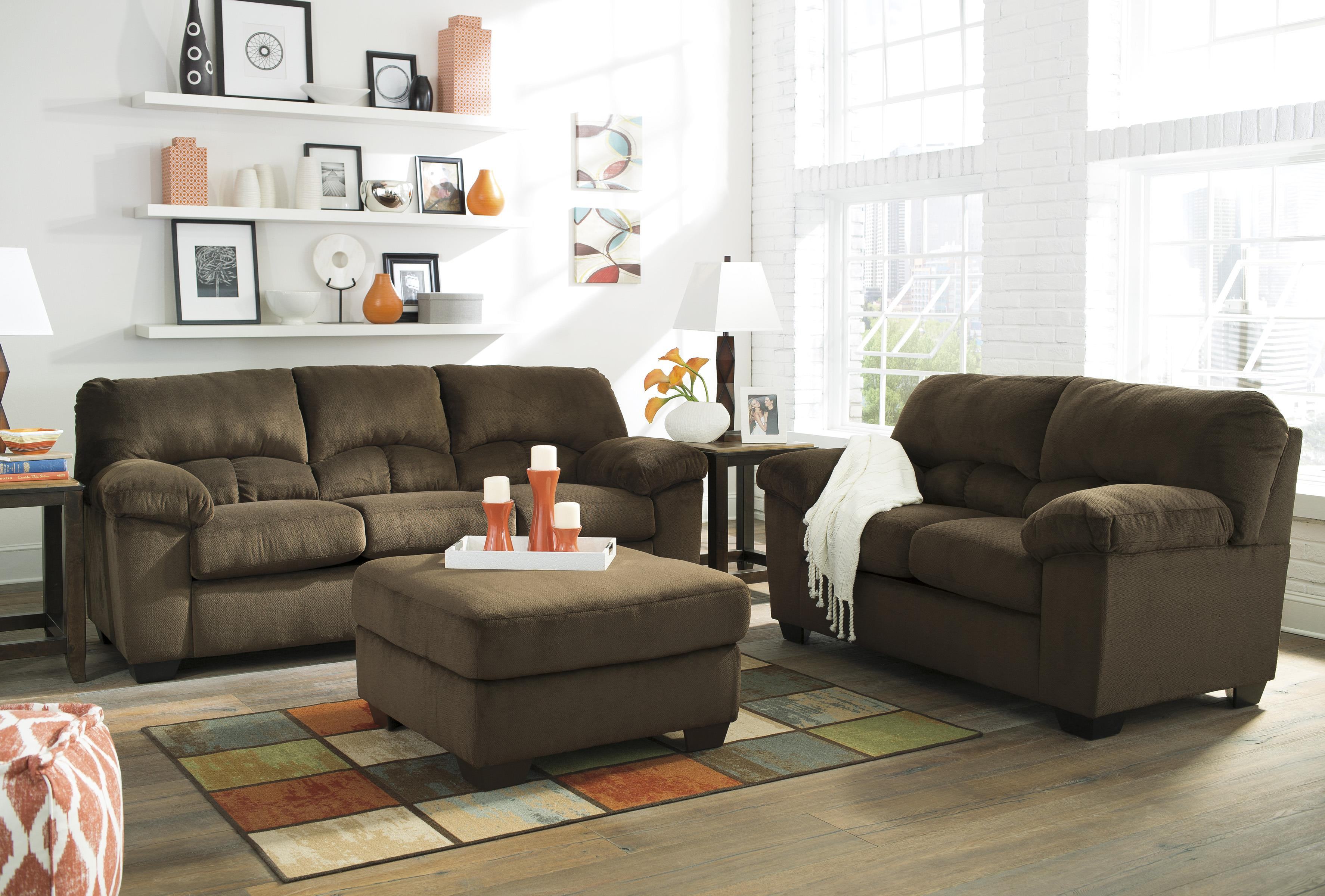 Ashley Signature Design Dailey Stationary Living Room Group Dunk Brig