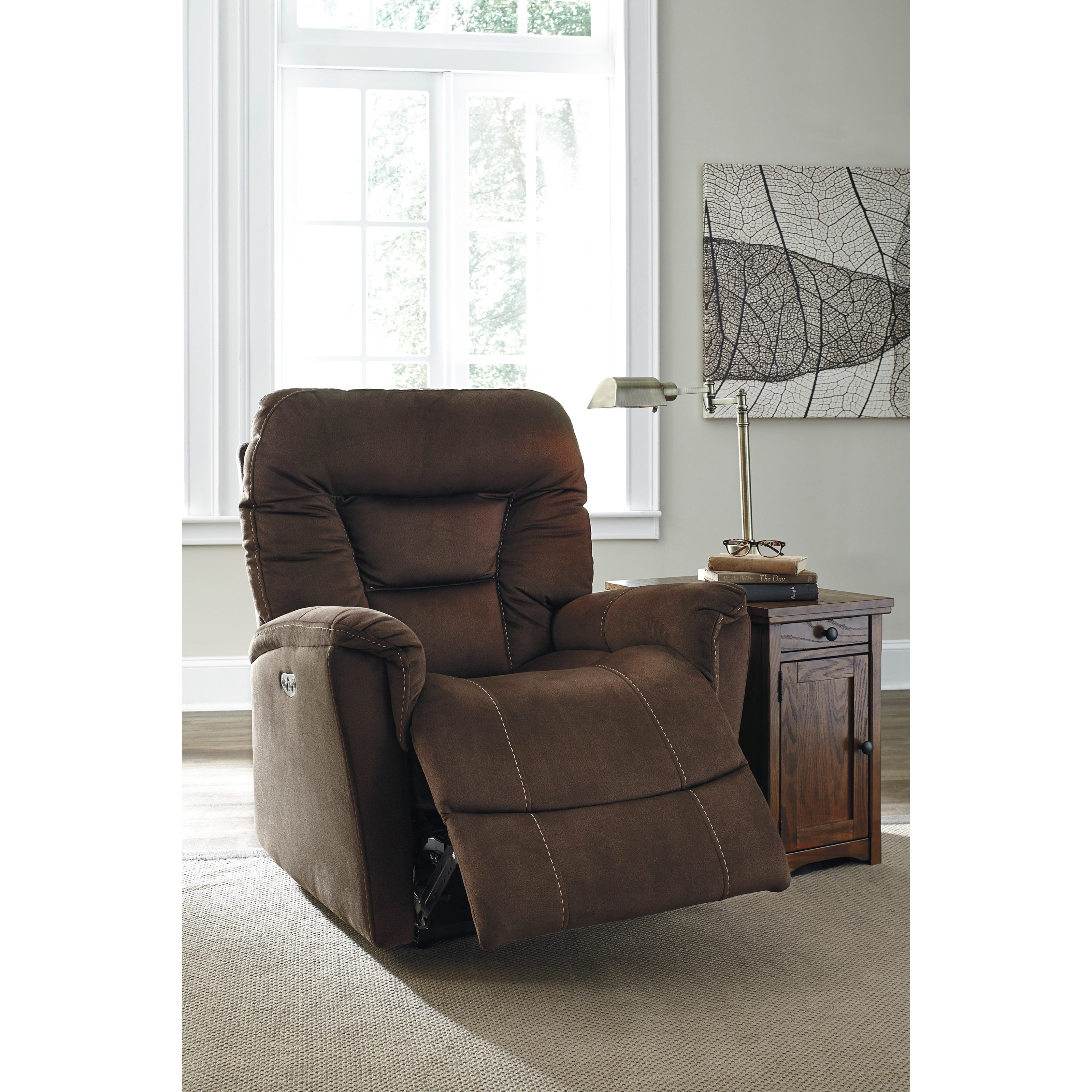 signature design by ashley dakos power recliner with