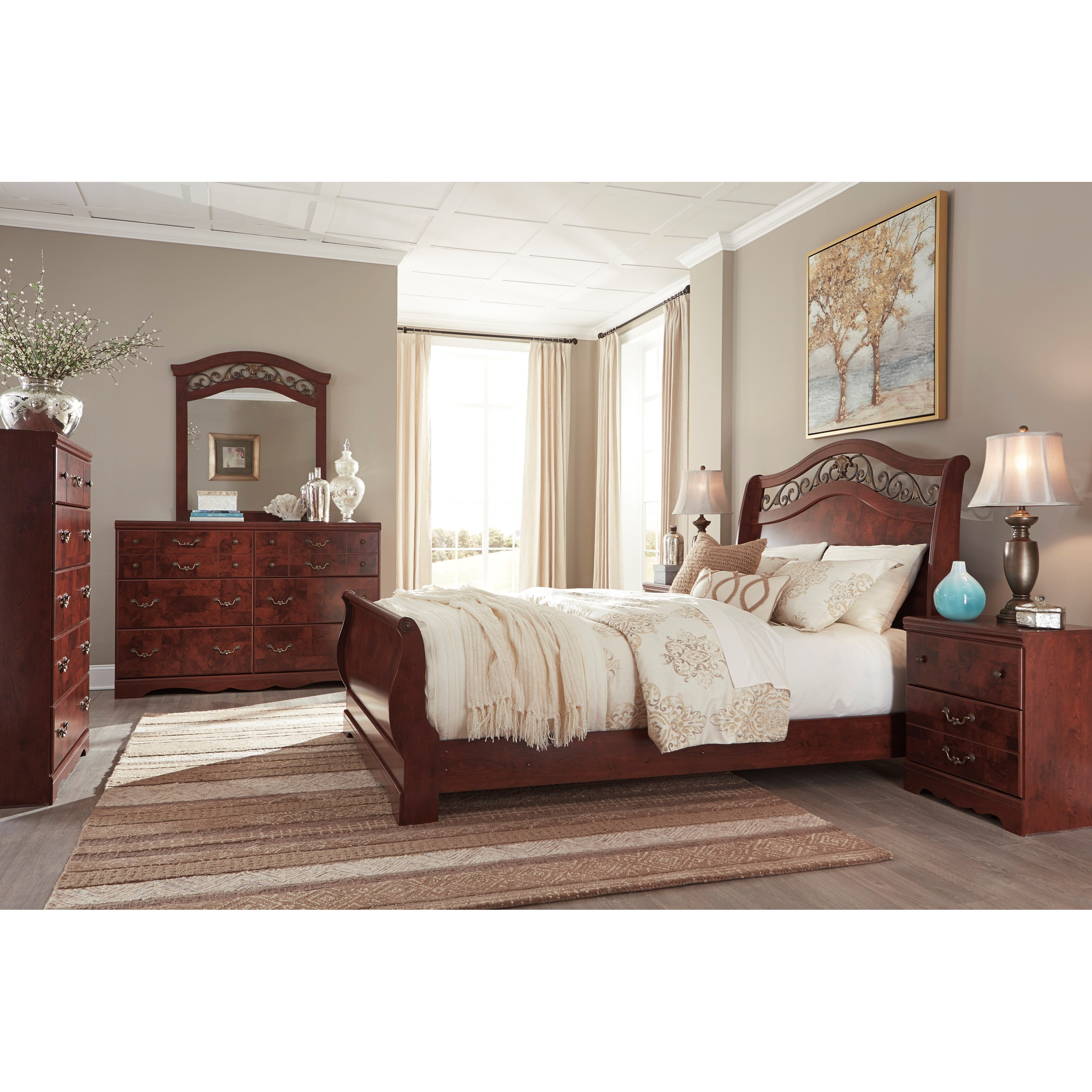 Ashley Furniture Outlet Chicago: StyleLine Delianna King Bedroom Group