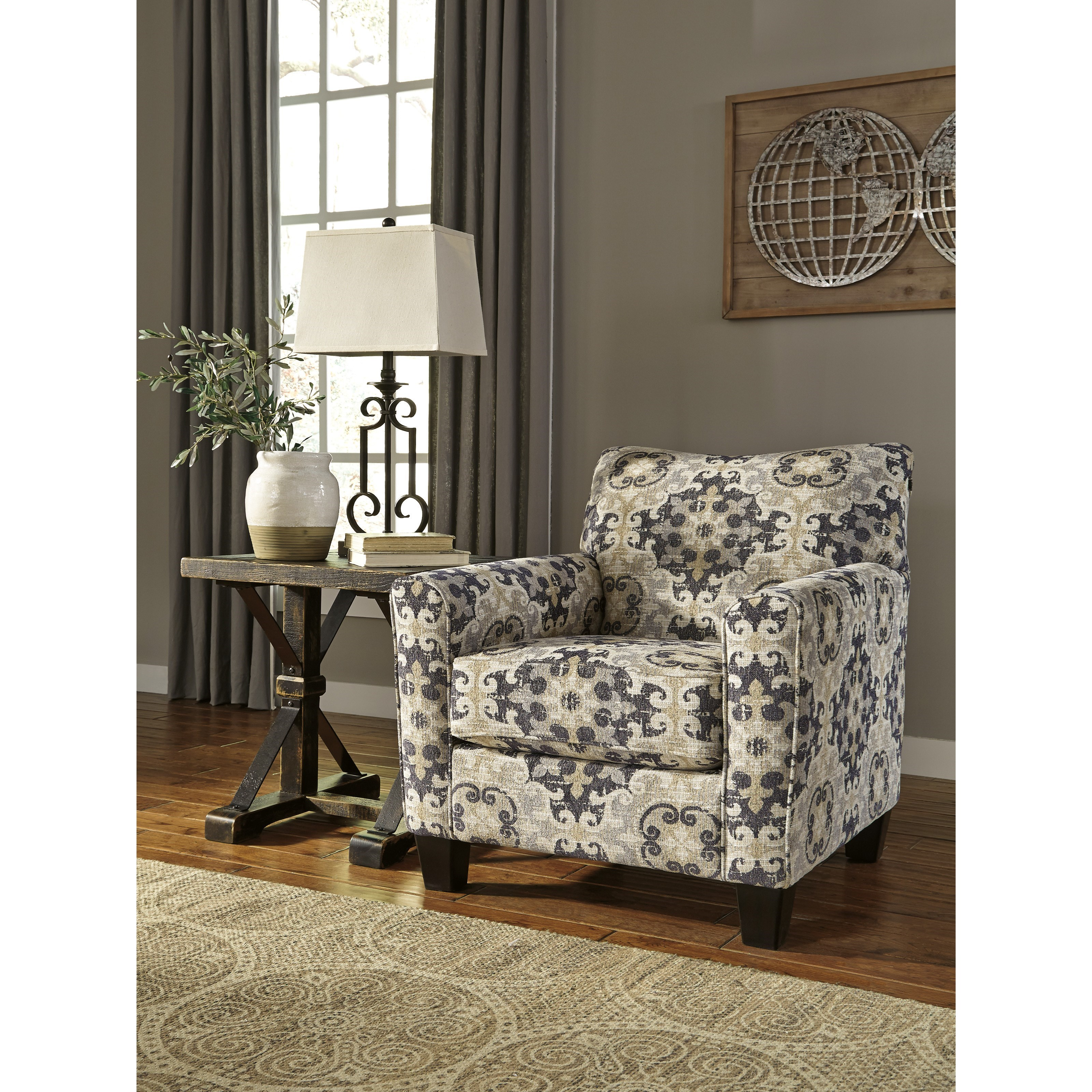 signature design by ashley denitasse casual accent chair