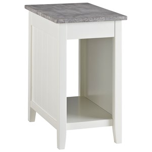 Signature Design By Ashley Rafferty T382 6 Round End Table