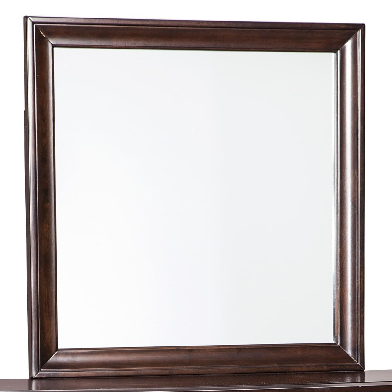 Signature design by ashley evanburg cherry finish bedroom for Bedroom mirrors
