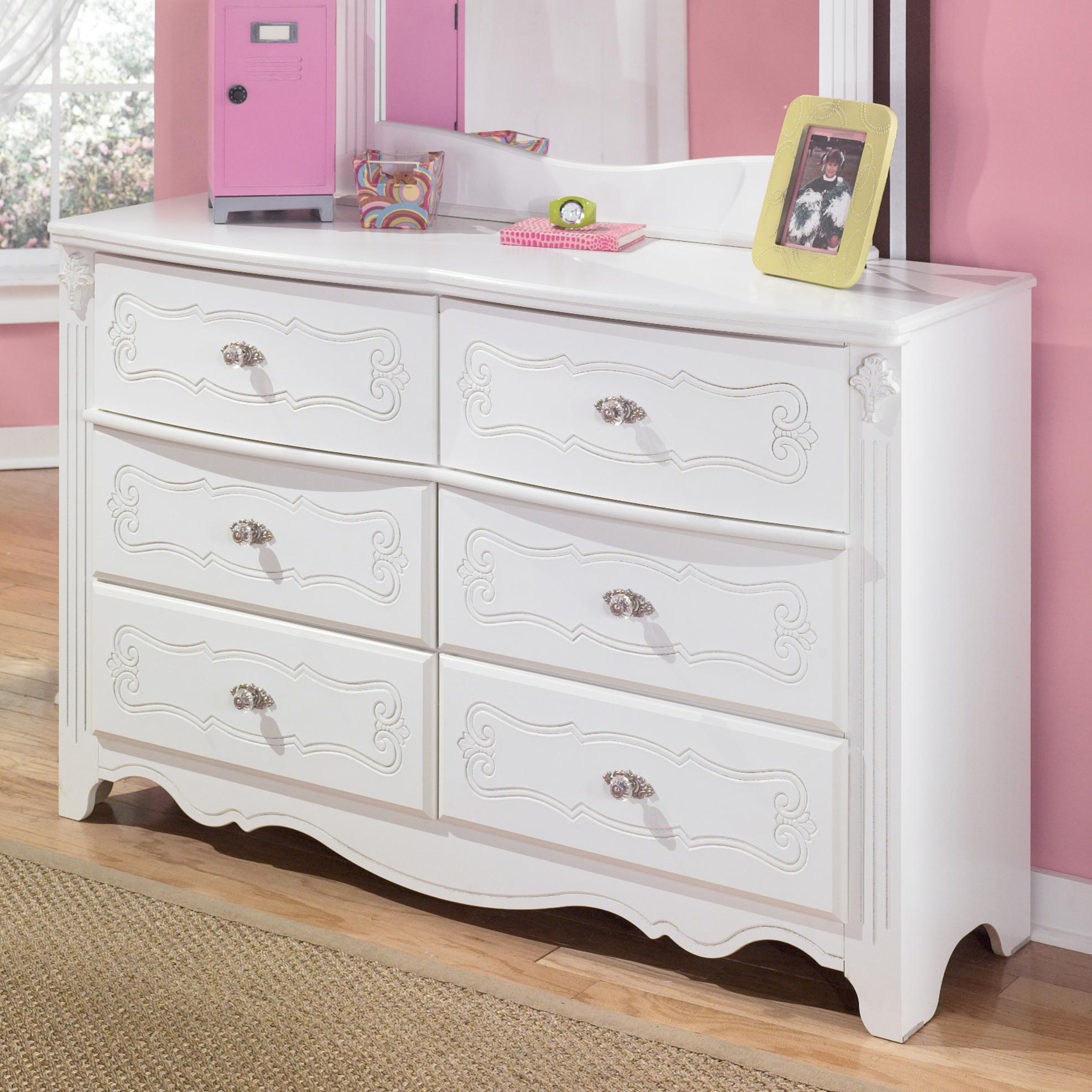 Signature Design By Ashley Exquisite B188 21 Traditional 6 Drawer Dresser John V Schultz