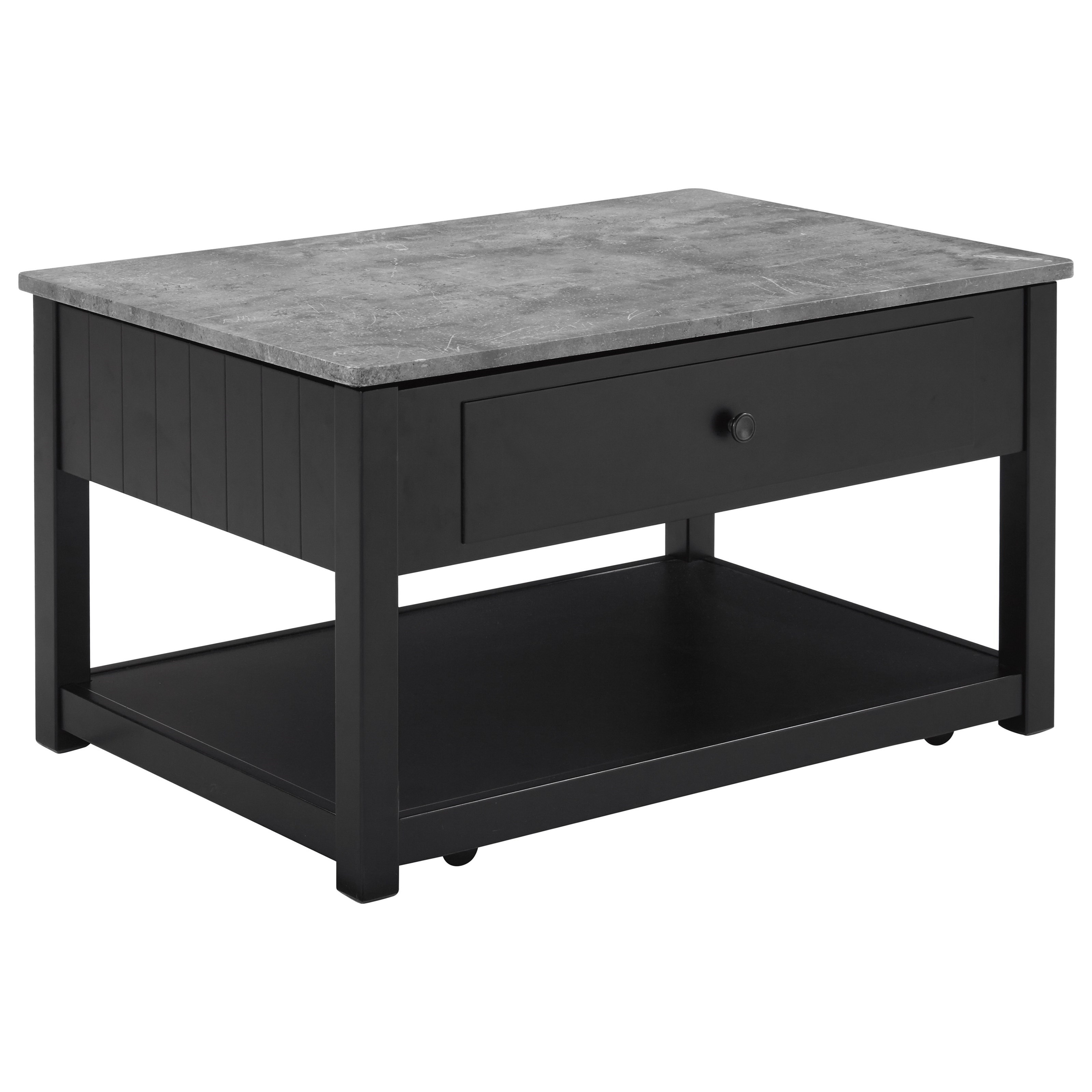 Vendor 3 Ezmonei 0181021 Lift Top Cocktail Table With Faux Marble Top Becker Furniture Cocktail Coffee Tables