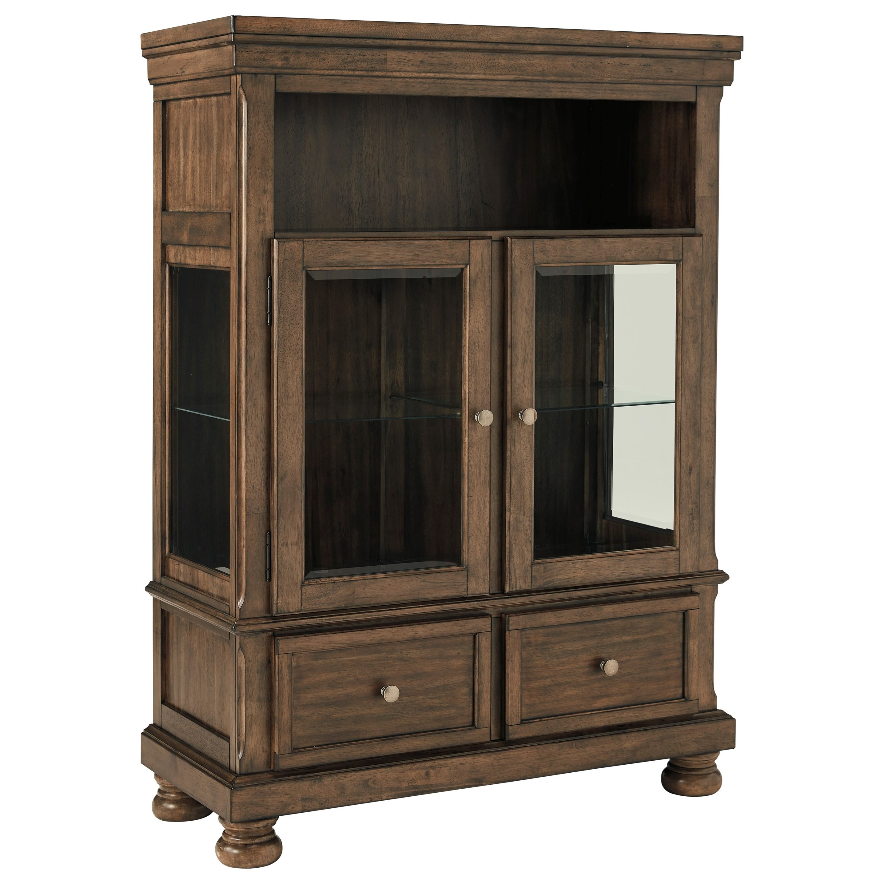 Signature Design By Ashley Flynnter Dining Curio With