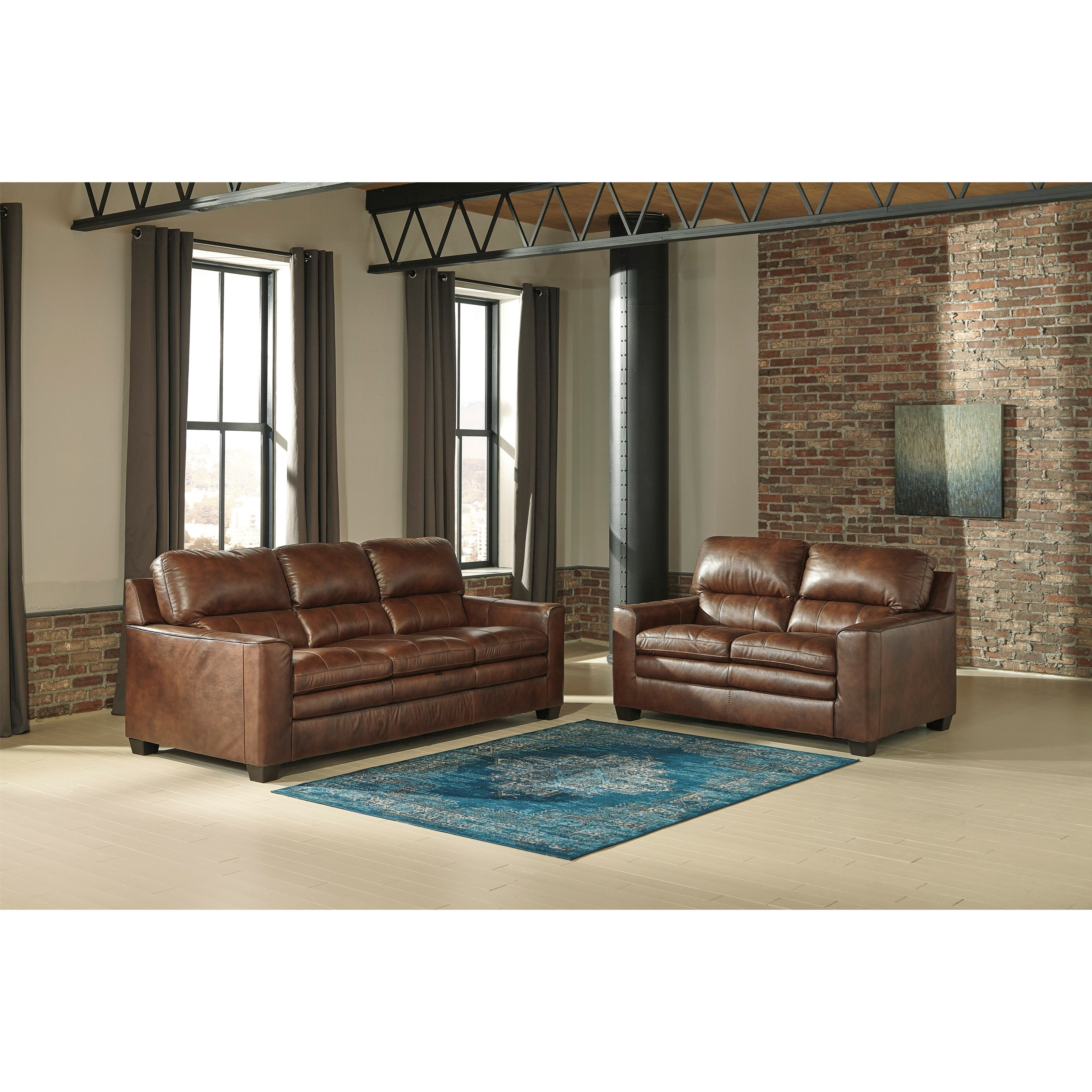 Signature Design By Ashley Gleason Stationary Living Room Group Household Furniture
