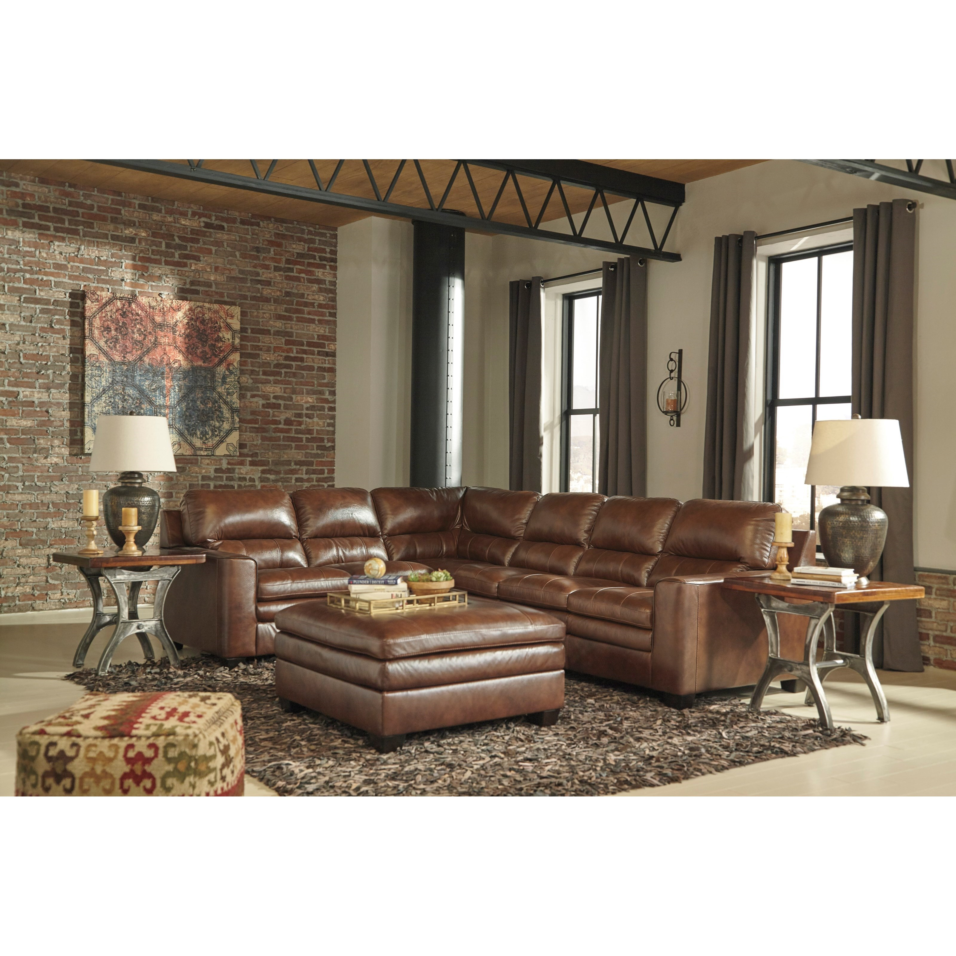 Signature Design By Ashley Gleason Stationary Living Room Group Furniture And Appliancemart