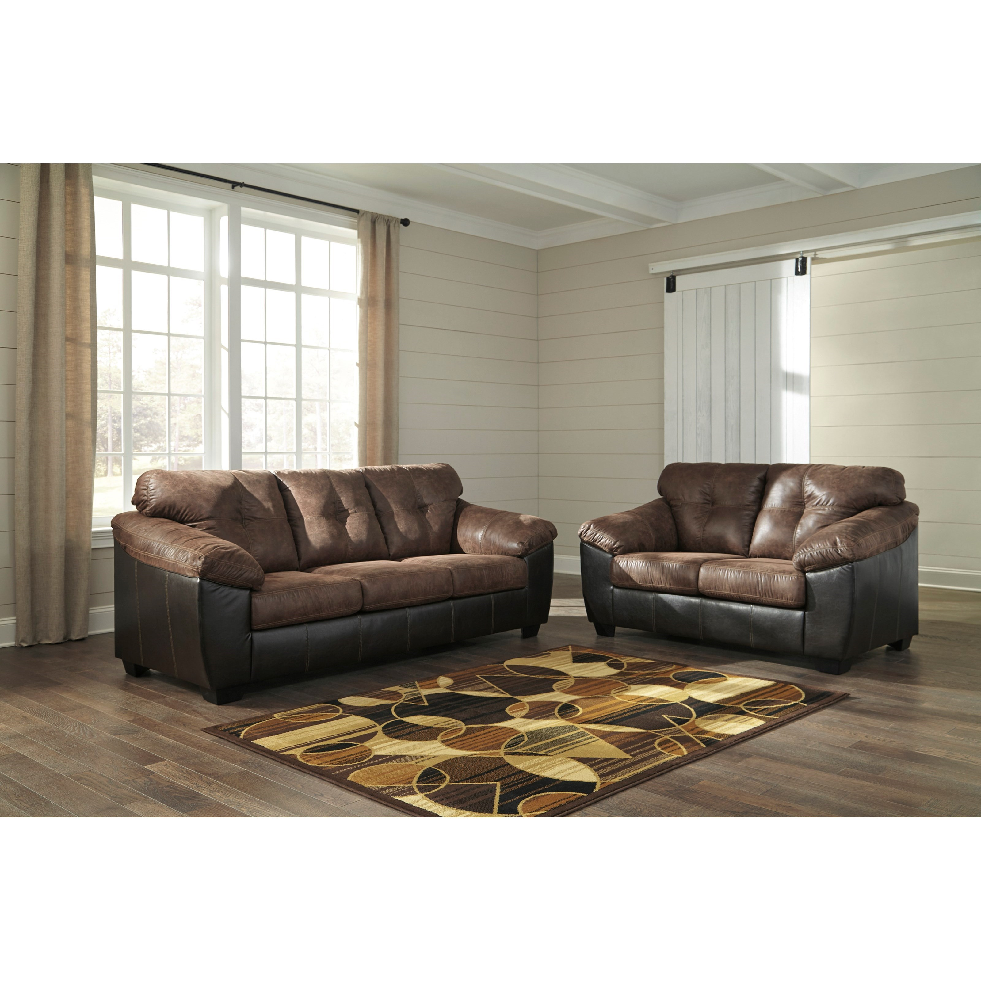 Signature Design By Ashley Gregale Stationary Living Room Group Household Furniture