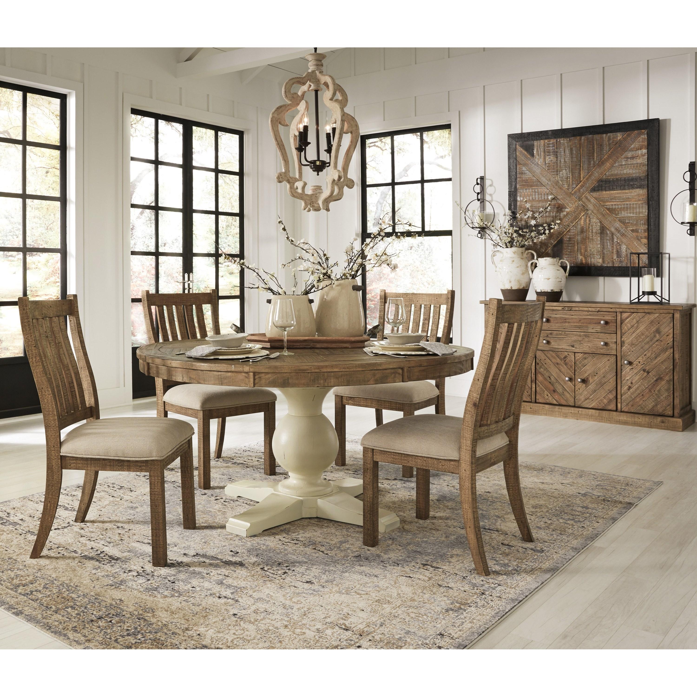signature design by ashley grindleburg casual dining room. Black Bedroom Furniture Sets. Home Design Ideas