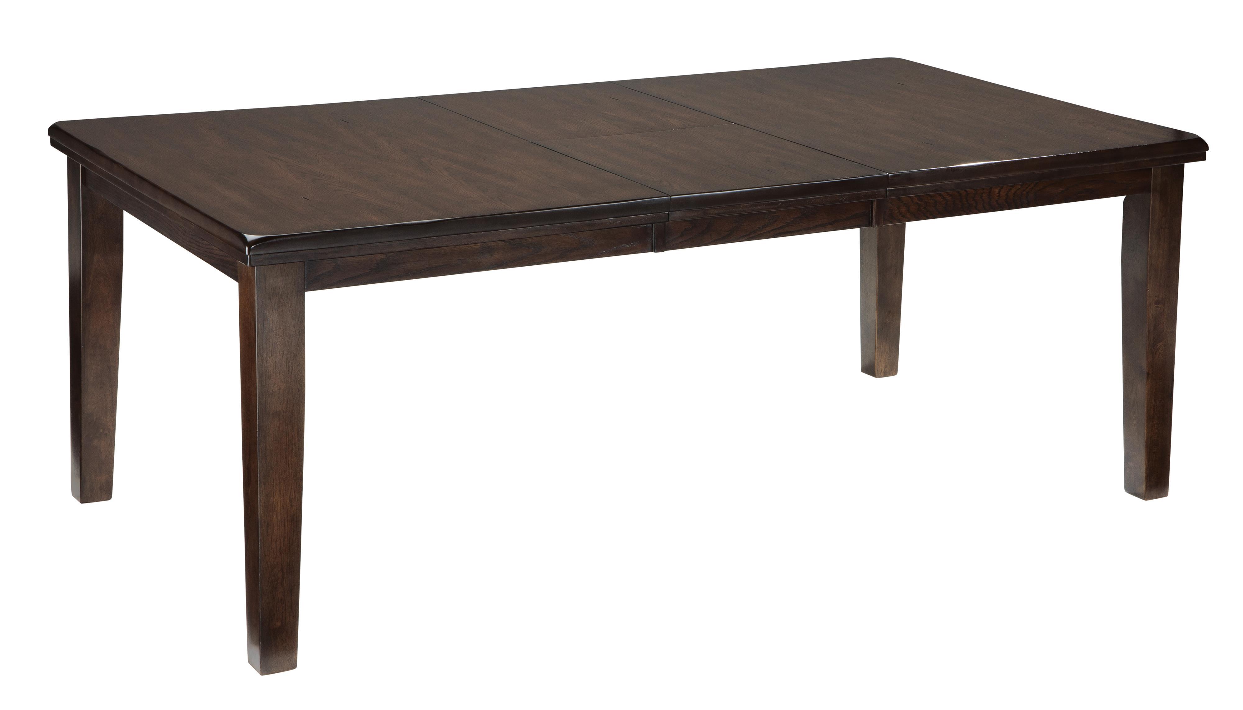 Ashley signature design haddigan 9 piece rectangular for Dining room tables 9 piece