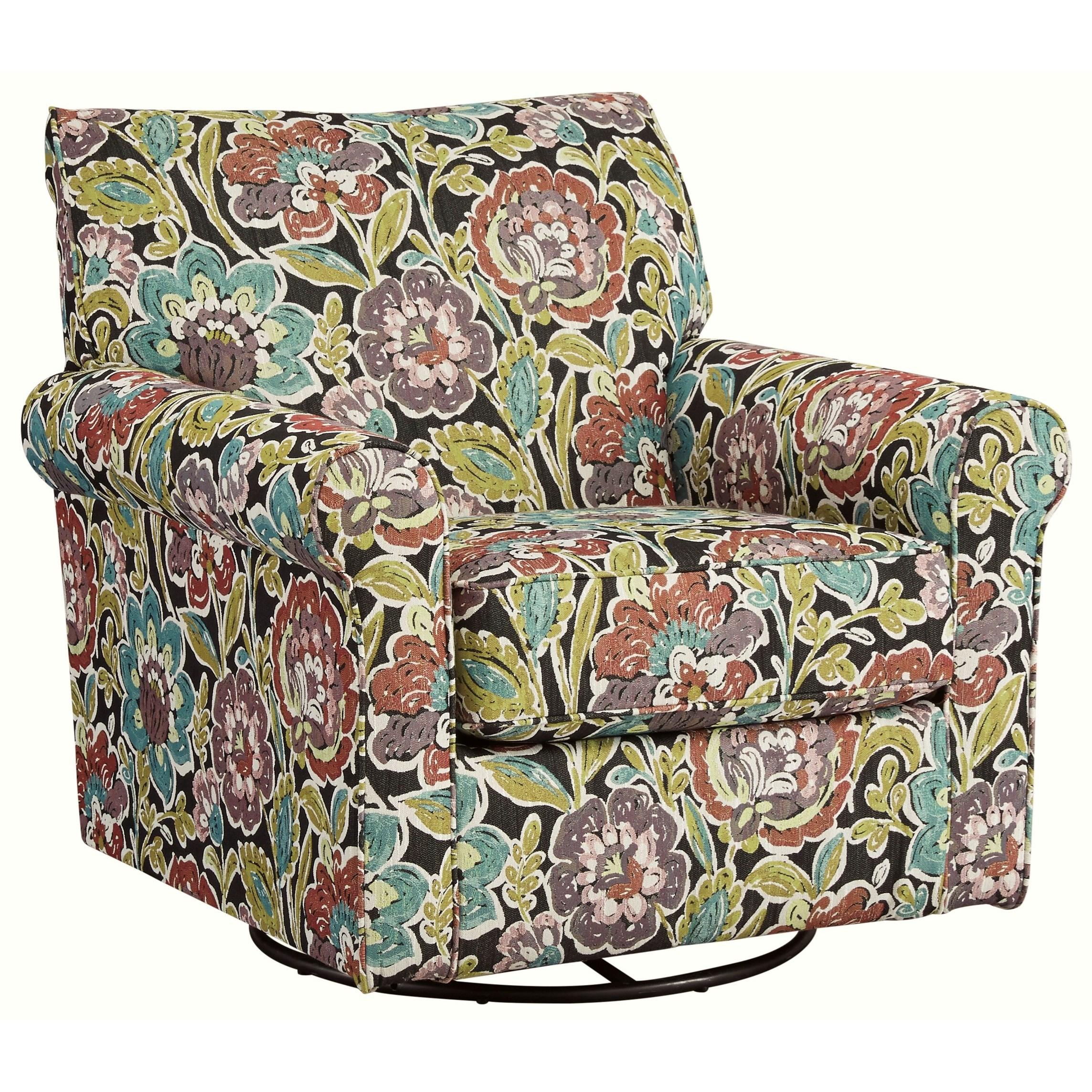 Harrietson Swivel Glider Accent Chair
