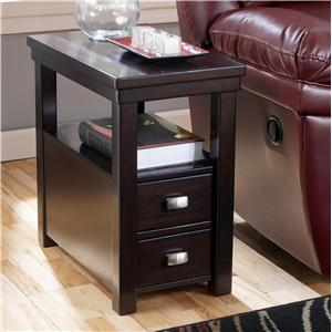 Signature Design By Ashley Hadley Chairside End Table With