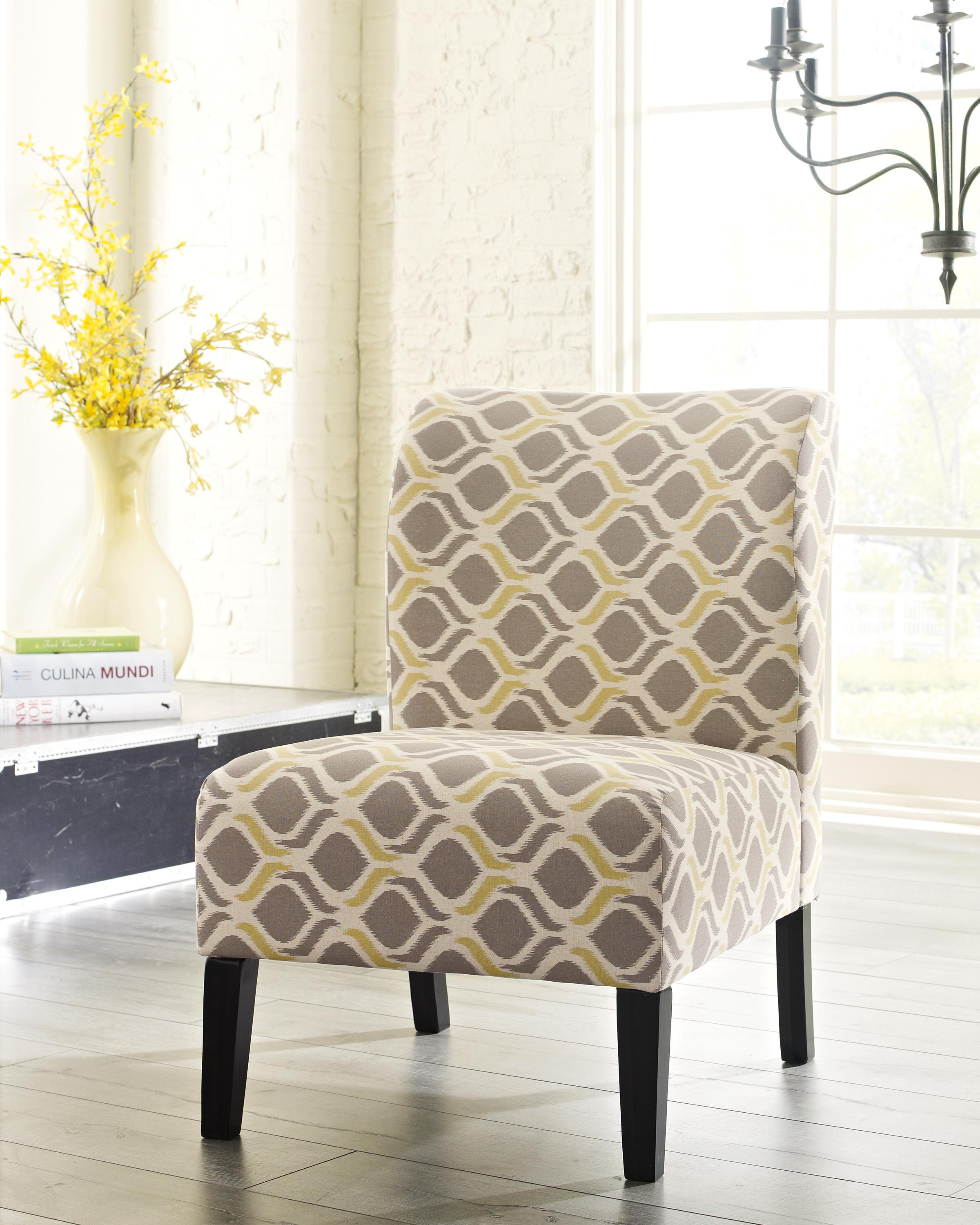 Signature Design By Ashley Honnally 5330560 Contemporary Slipper Style Accent Chair Furniture