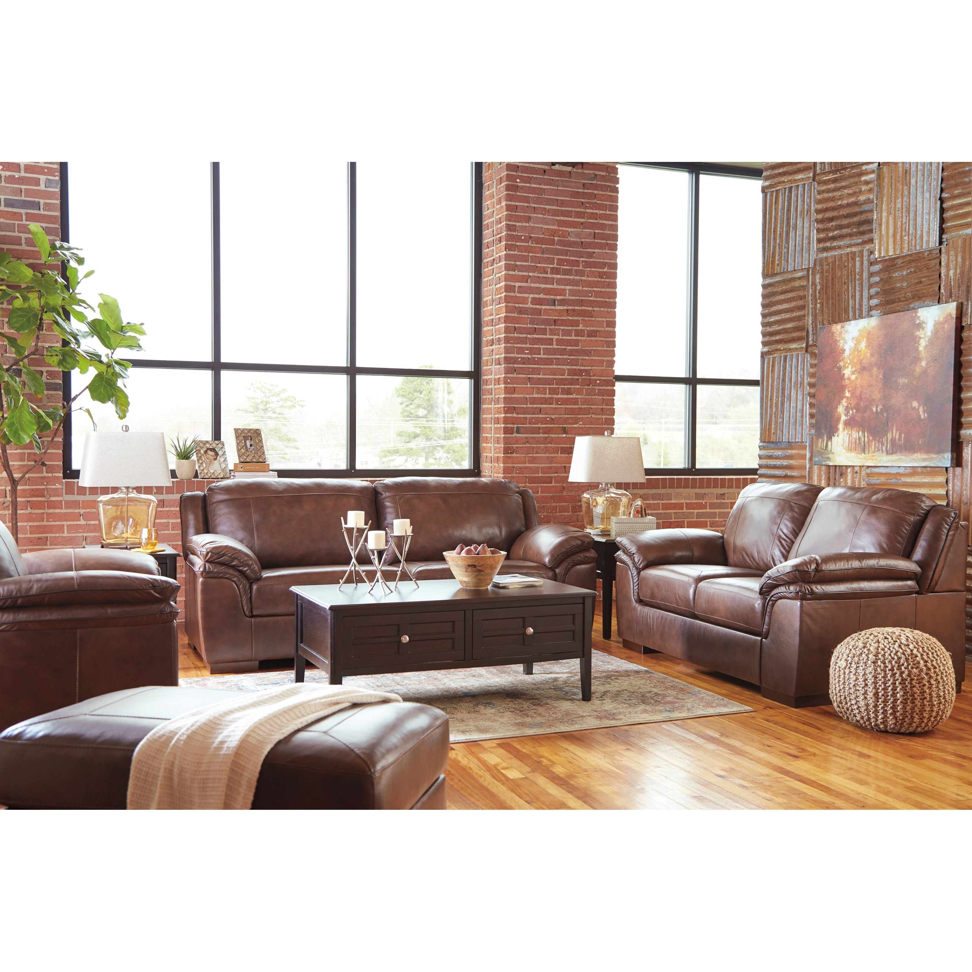 Signature Design By Ashley Islebrook Stationary Living Room Group Value City Furniture