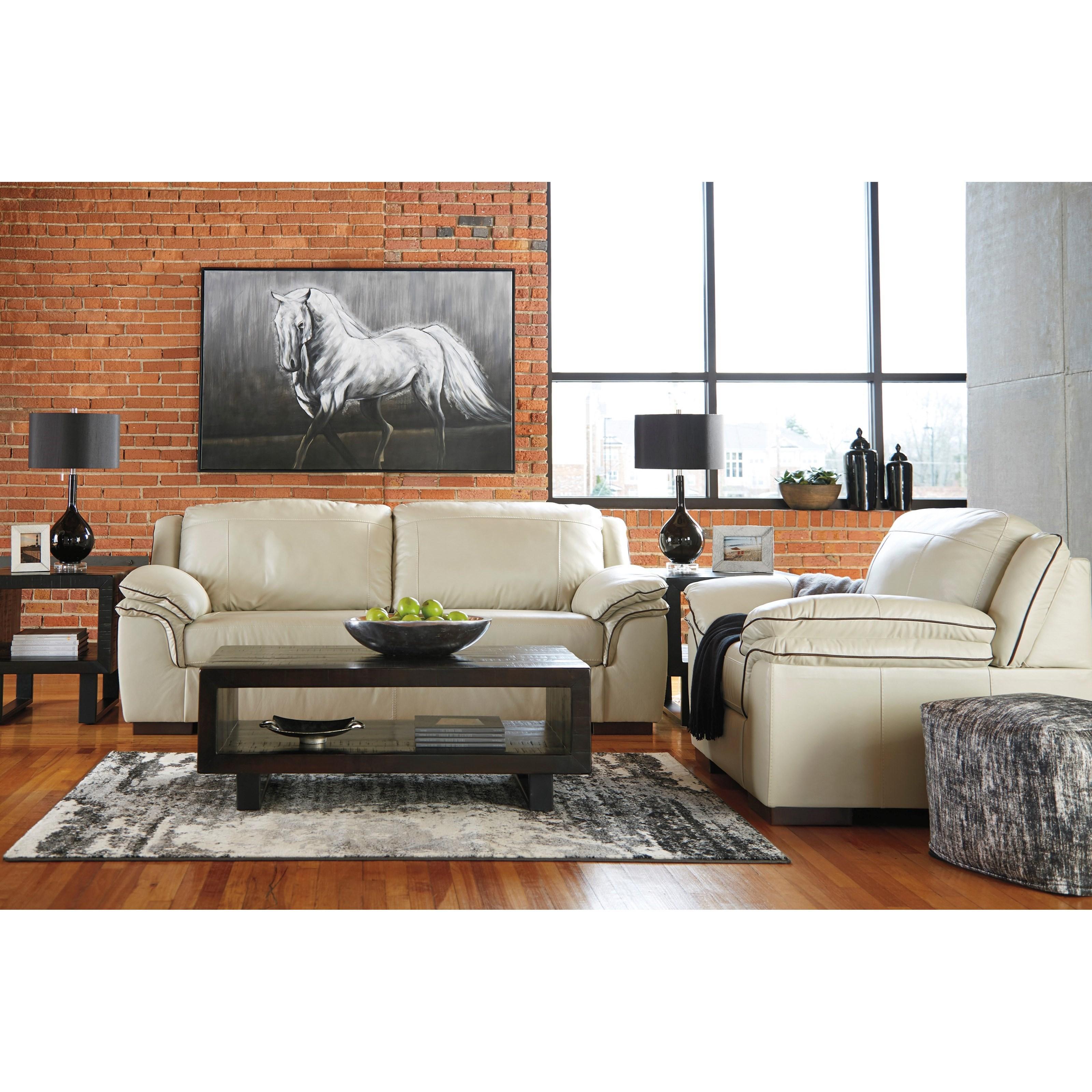 Signature Design By Ashley Islebrook Stationary Living Room Group Olinde 39 S Furniture