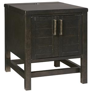 Ashley Signature Design Deagan T334 3 Rectangular End Table Johnny Janosik End Table