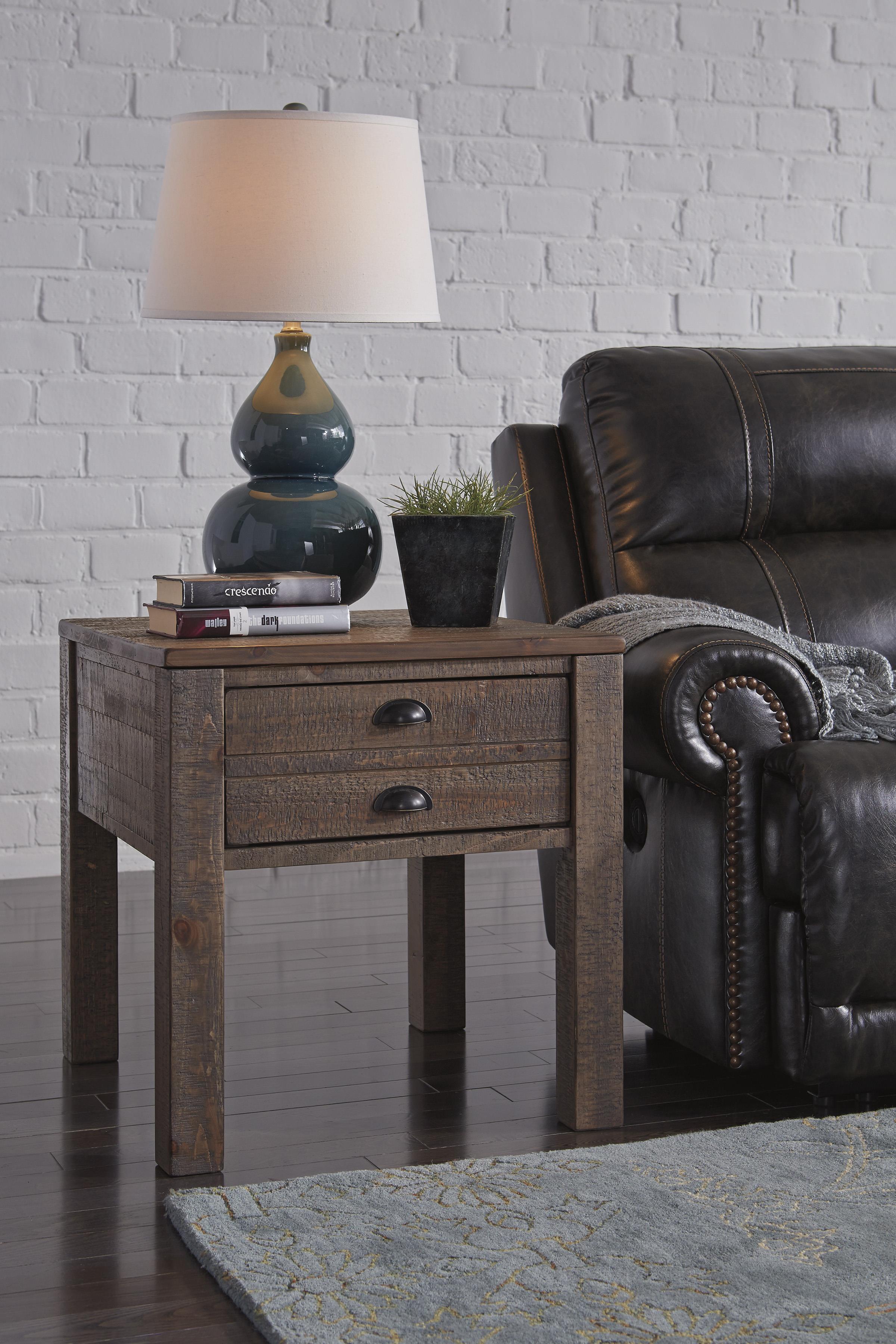 signature design by ashley keeblen rectangular end table