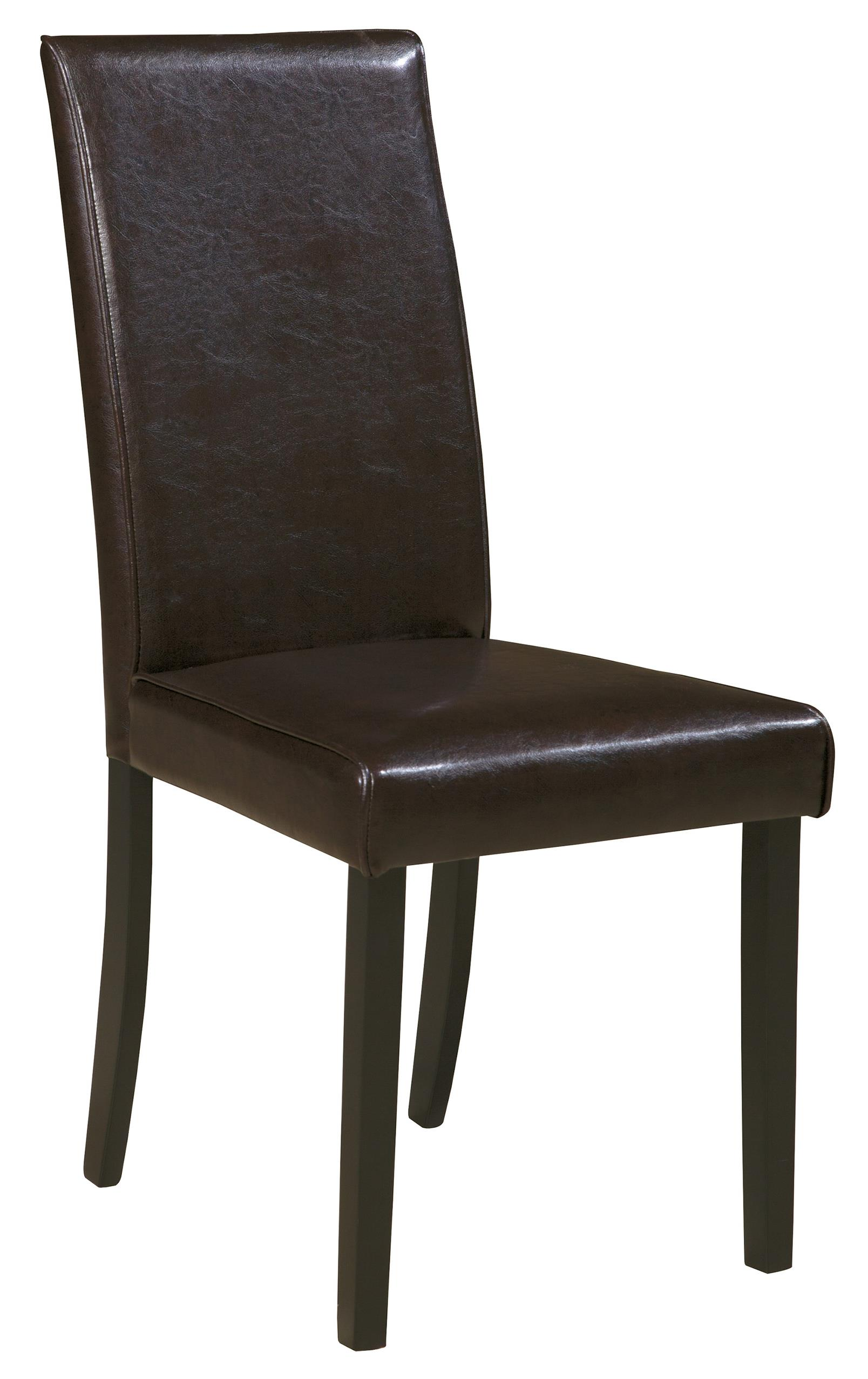 Signature design by ashley kimonte dining upholstered side for Dining chairs with upholstered seats