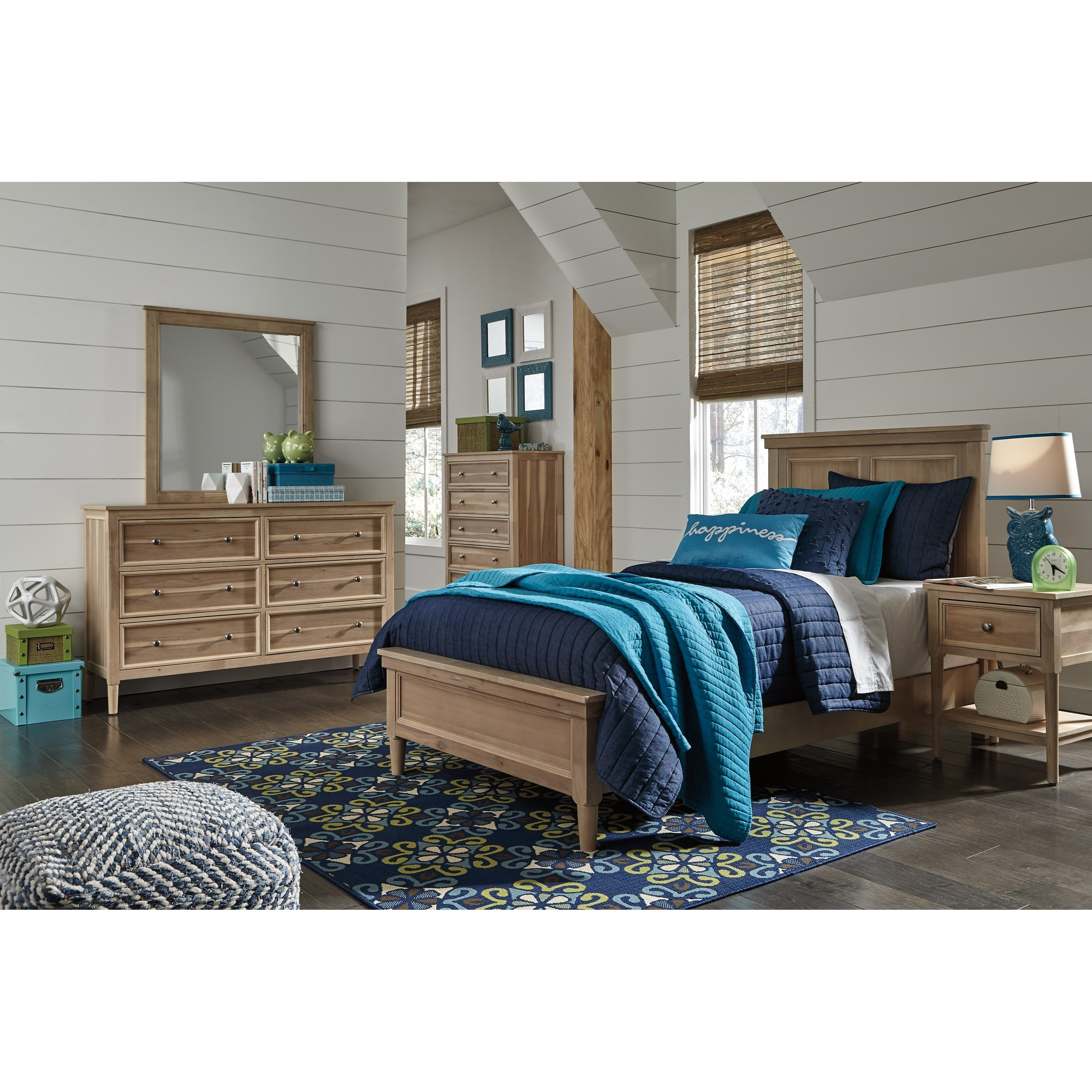 ashley klasholm twin bedroom group del sol furniture bedroom
