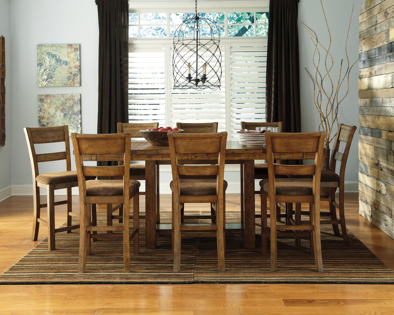 Ashley signature design krinden d653 124 rustic for Furniture 124