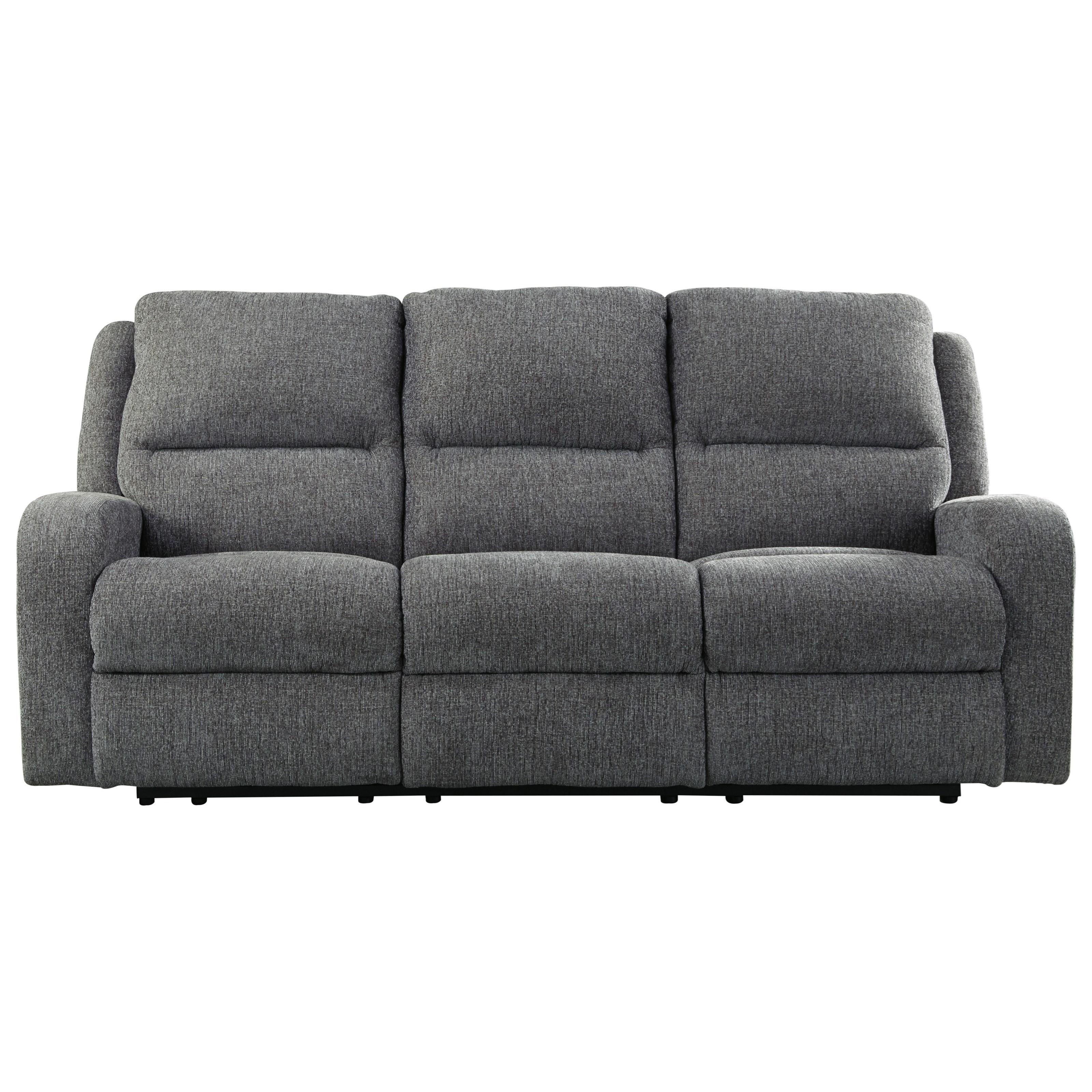 Ashley signature design krismen 7810215 contemporary power for Contemporary reclining sofas