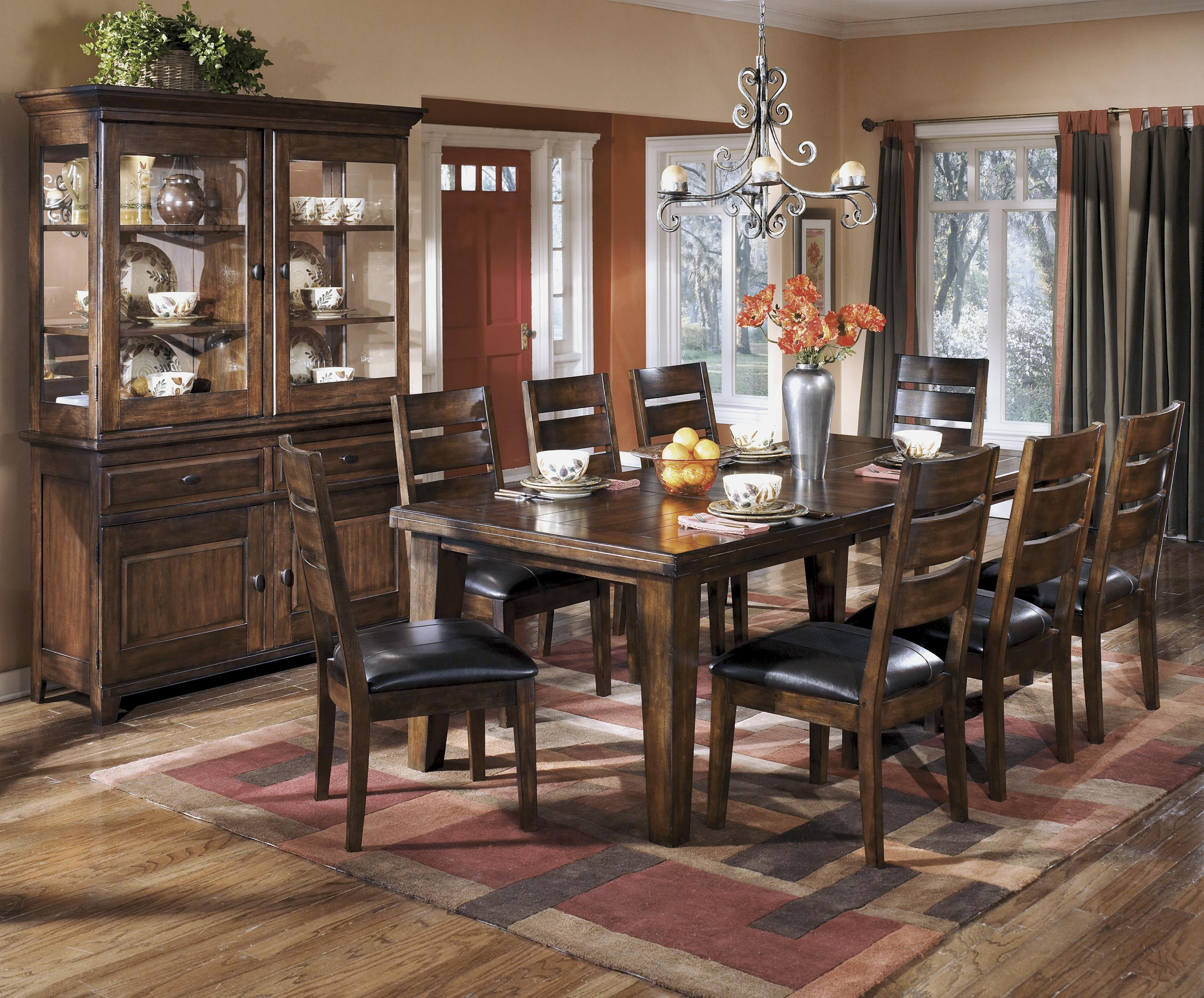 Signature design by ashley larchmont casual dining room for Casual dining room