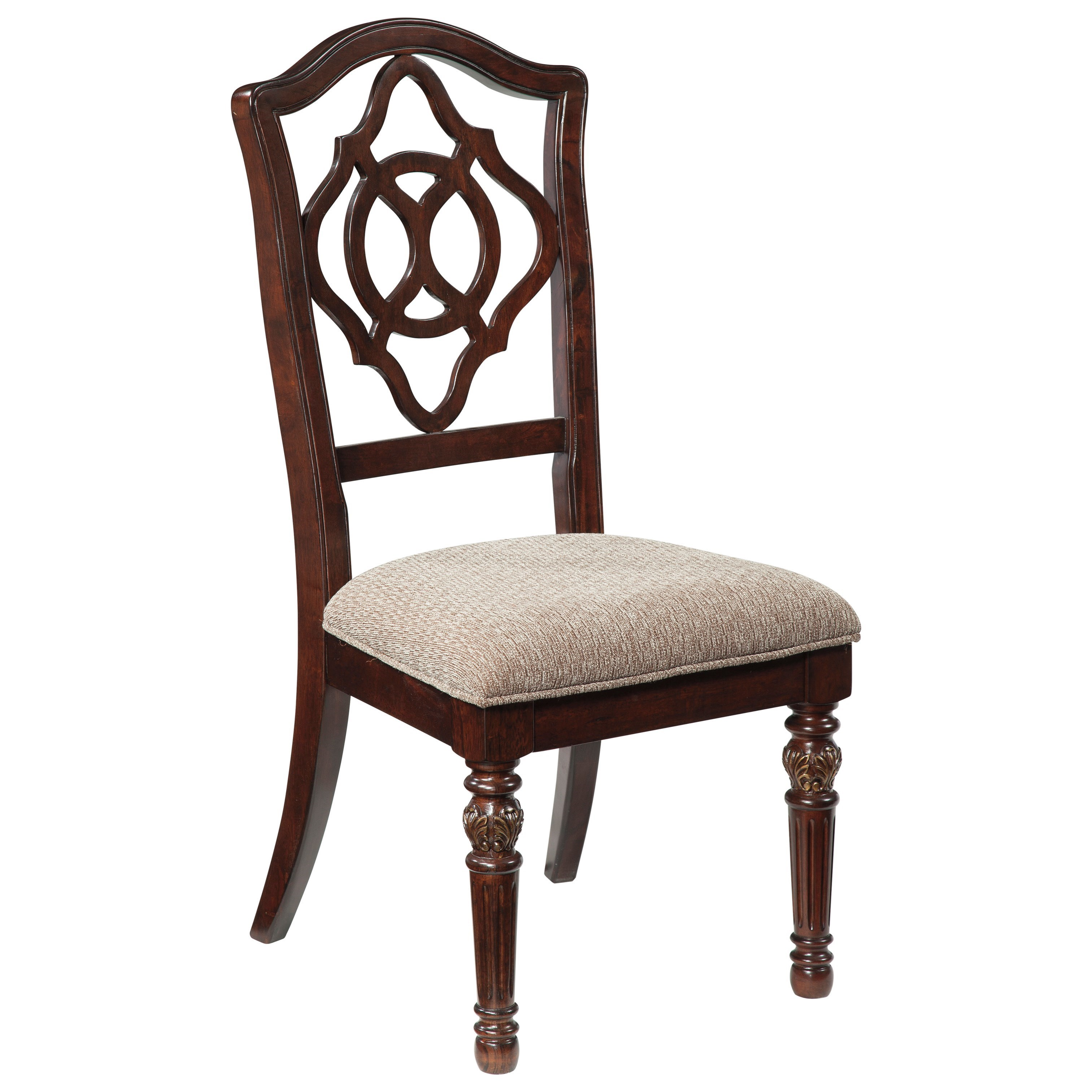 Traditional Upholstered Dining Chairs ~ Signature design by ashley leahlyn d traditional