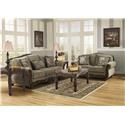 Signature design by ashley fresco 5 piece living room for 5 piece living room packages