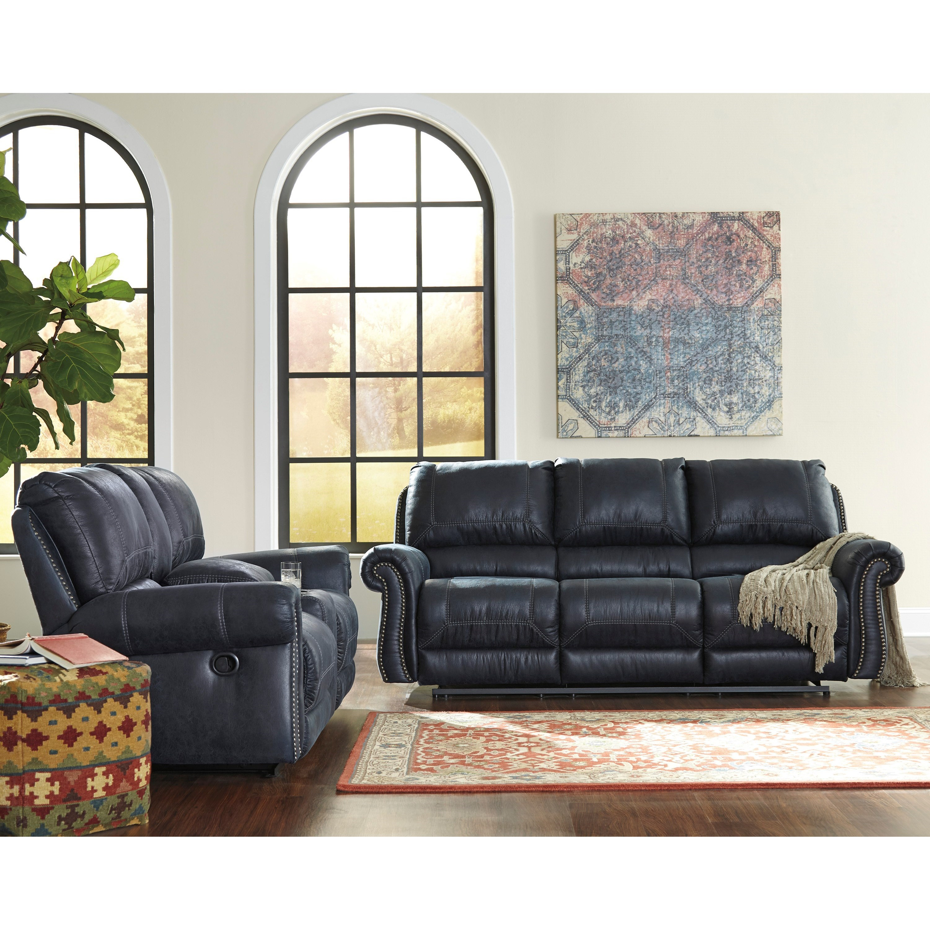 Signature Design By Ashley Milhaven Reclining Living Room Group Royal Furni