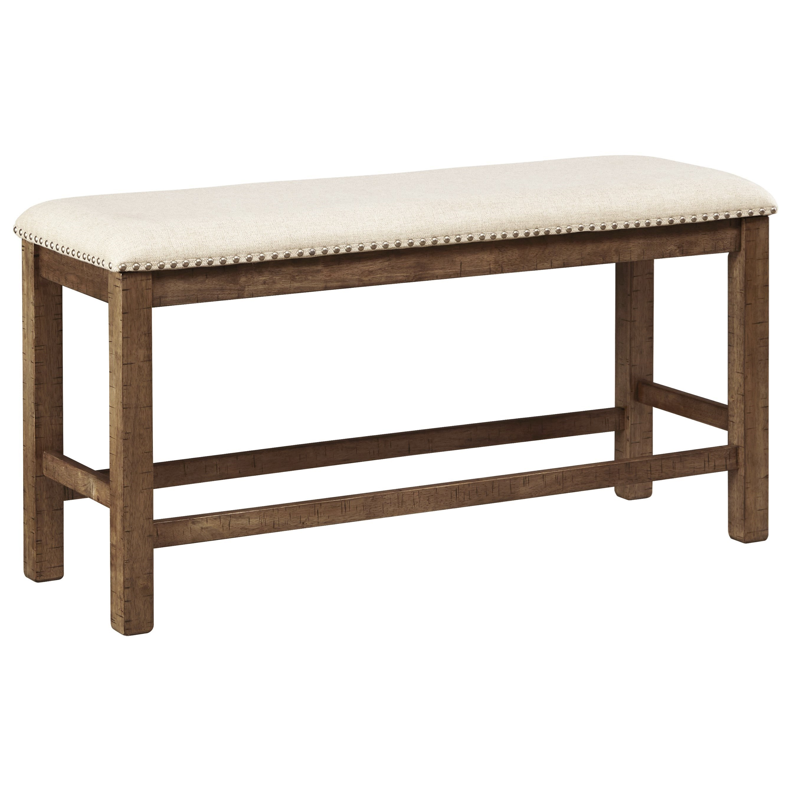 Signature Design By Ashley Moriville Double Upholstered Bench Wayside Furniture Dining Benches