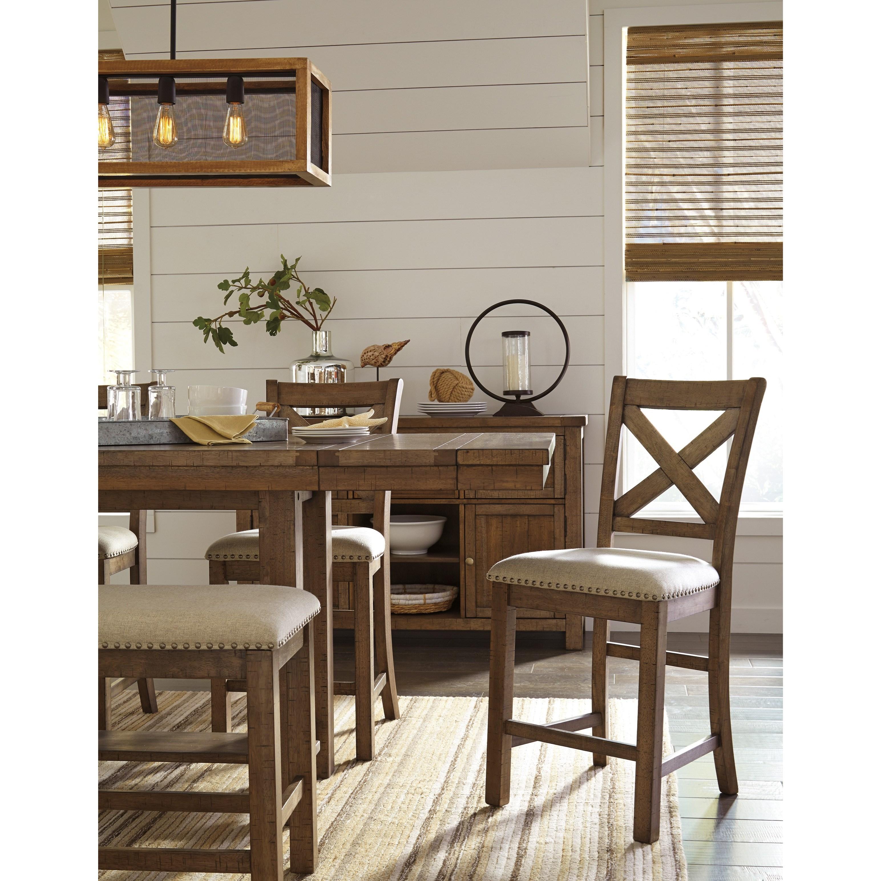 Ashley signature design moriville d631 124 upholstered for Furniture 124