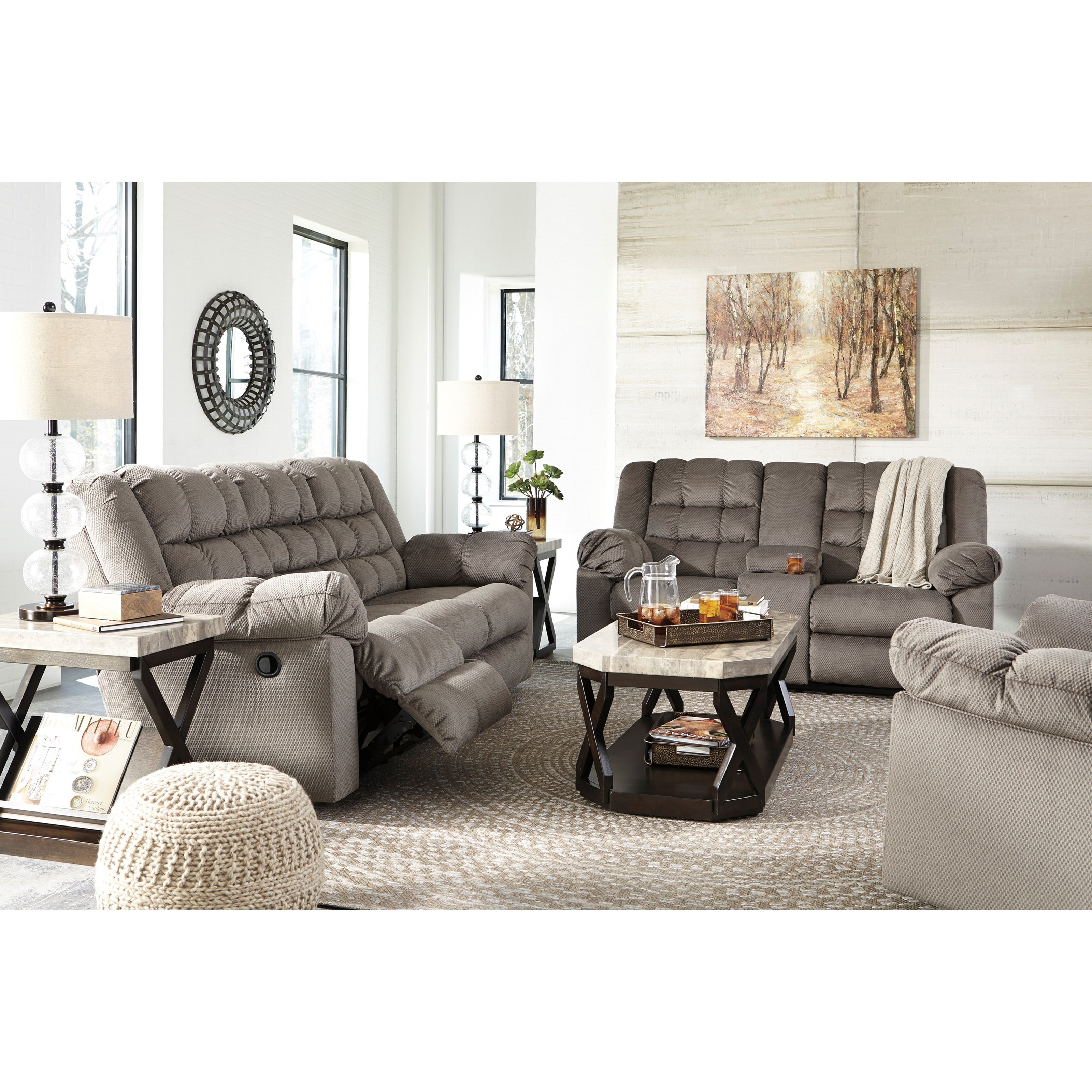 Signature Design by Ashley Mort Reclining Living Room