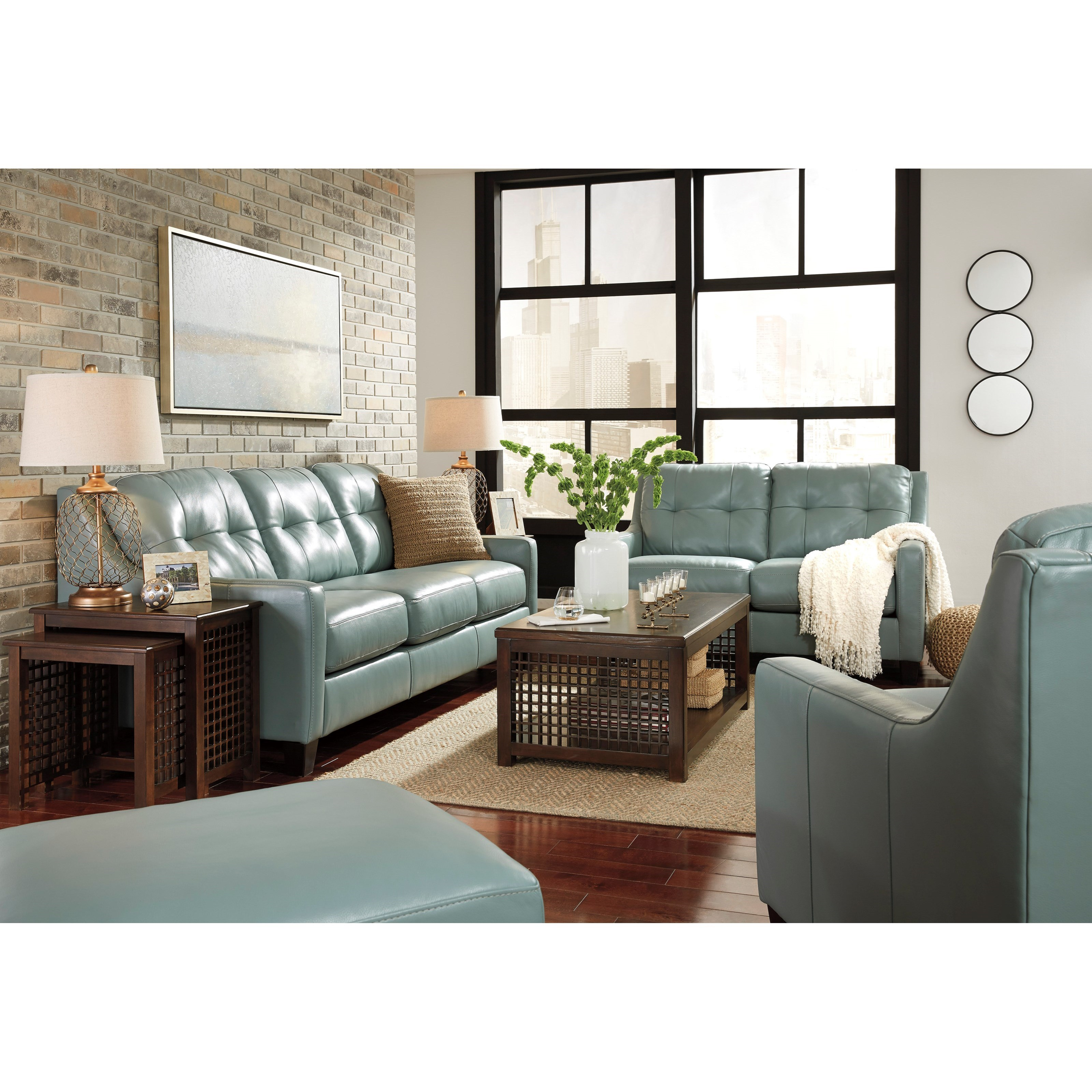 Signature Design By Ashley O 39 Kean Stationary Living Room Group Royal Furniture Stationary