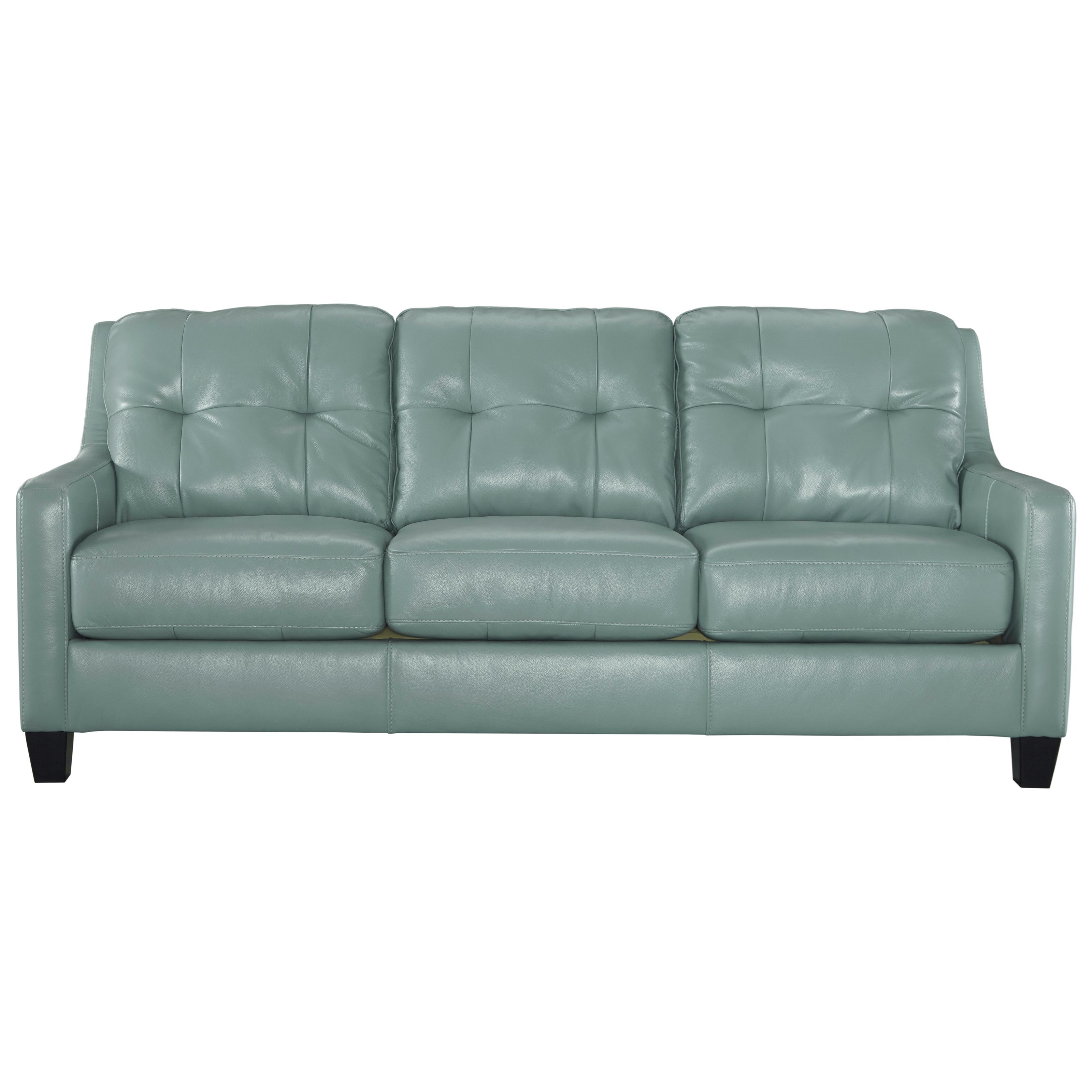 Black Leather Sofa Jcpenney: Ashley Signature Design Sofa Signature Design By Ashley Madeline Fabric Pad Arm Sofa Jcpenney