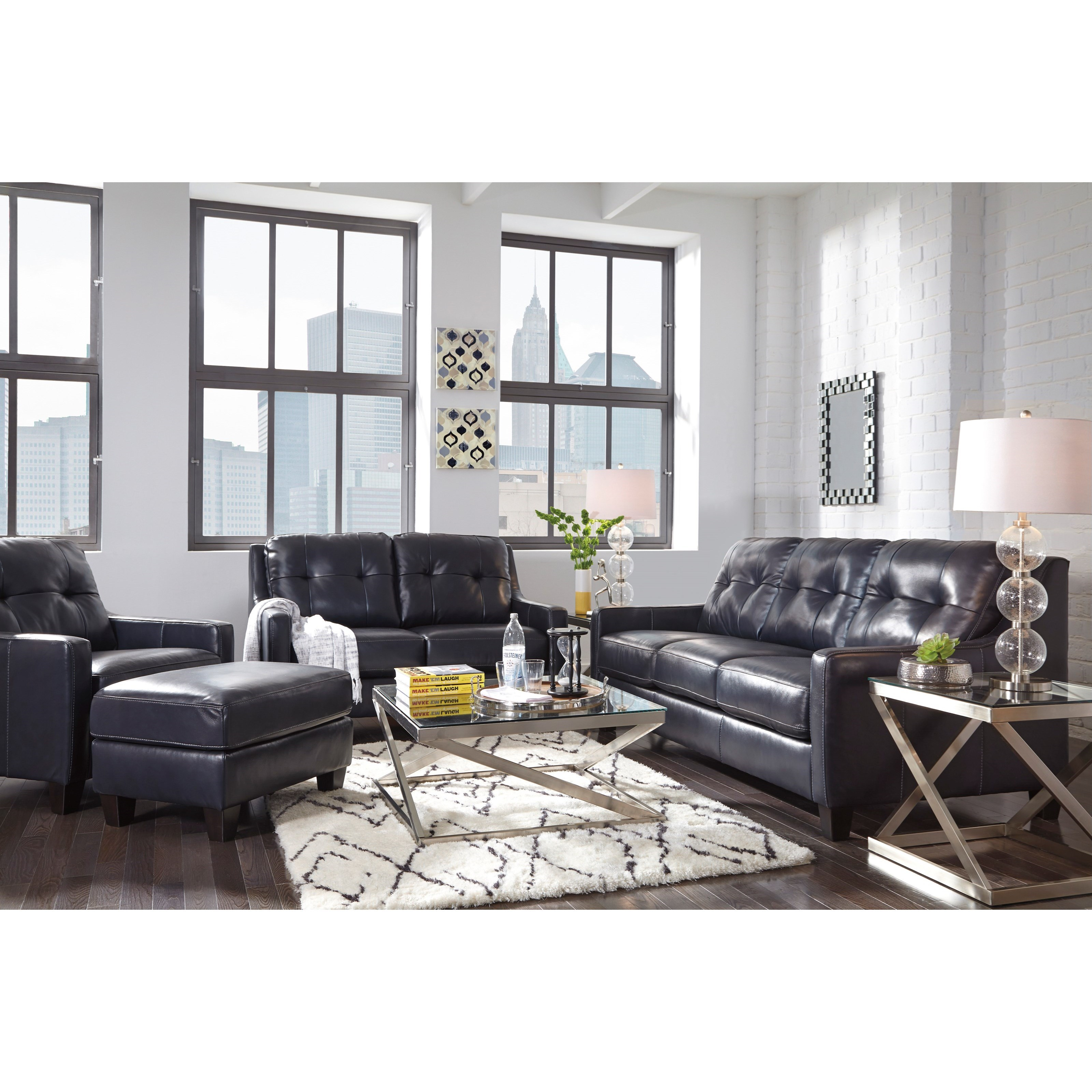 Ashley Signature Design O 39 Kean Stationary Living Room Group Dunk