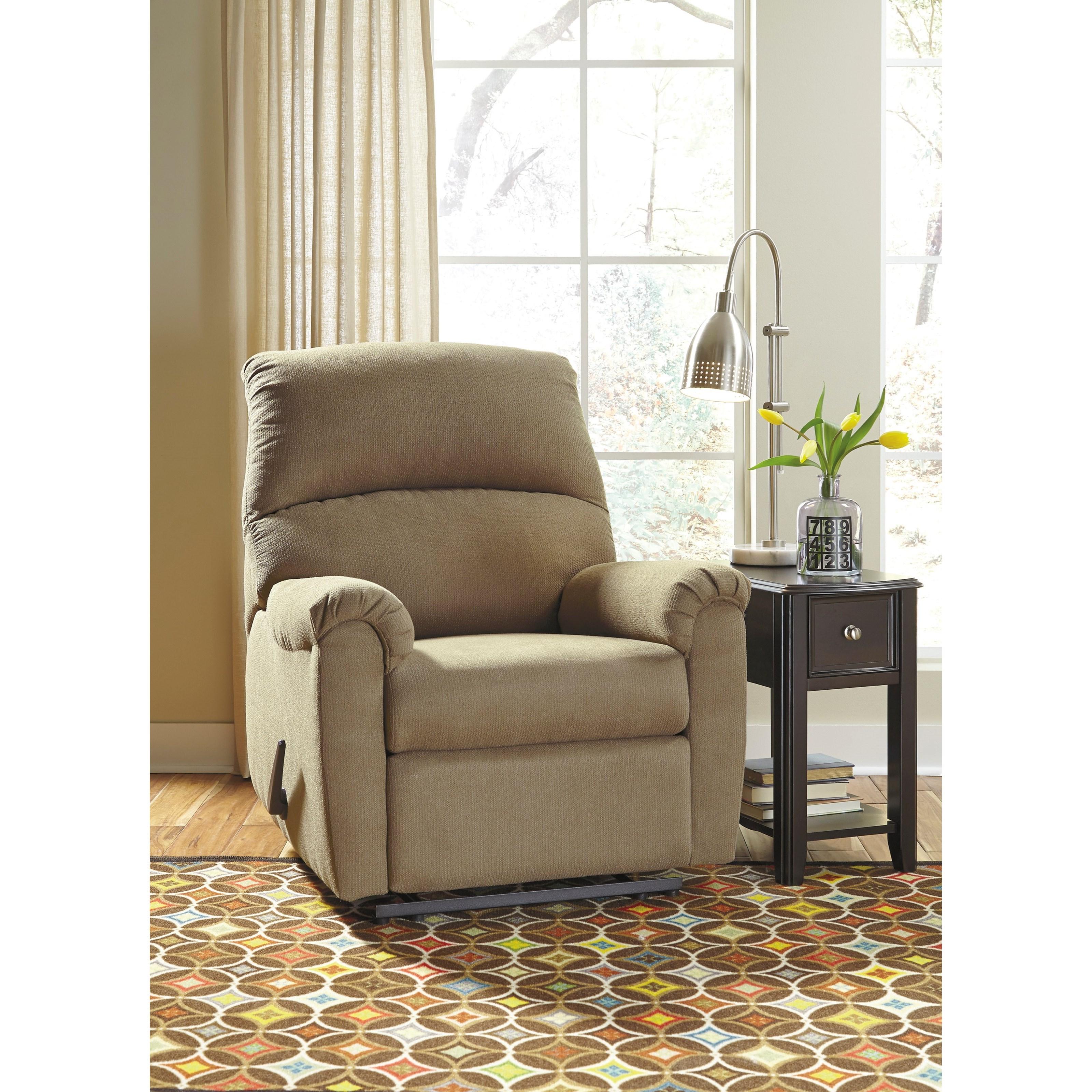 signature design by ashley otwell zero wall recliner
