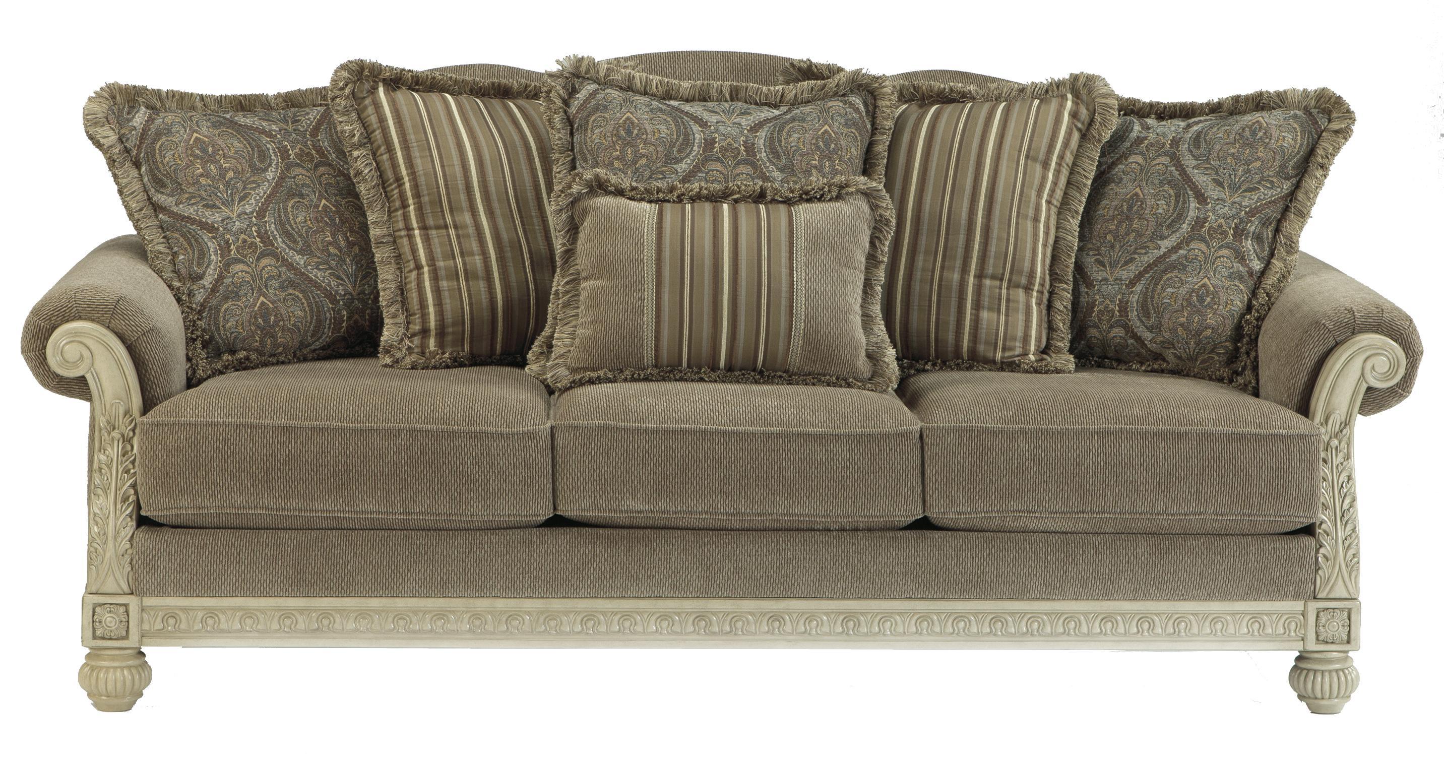 Parkington Bay Platinum Living Room Set