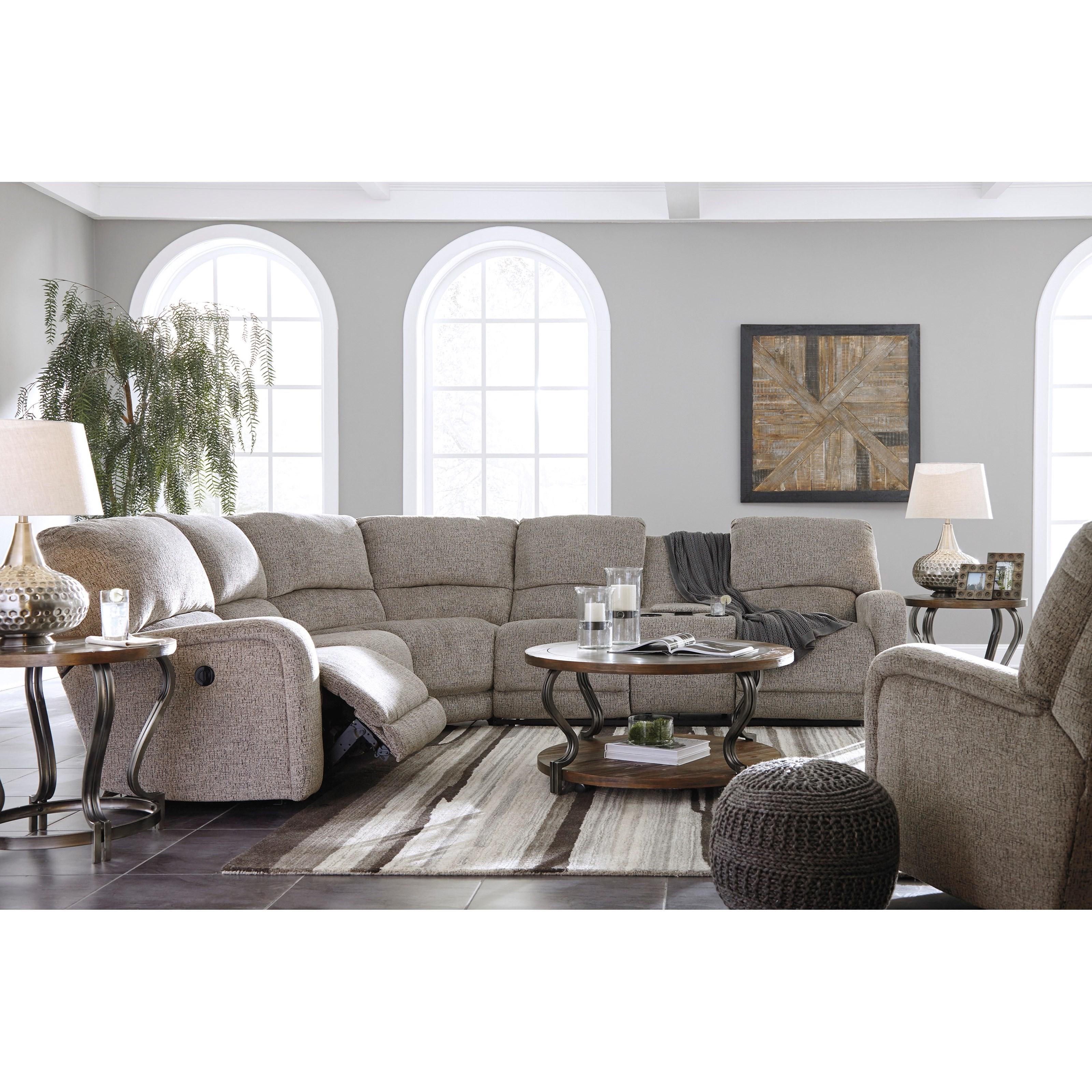 Ashley signature design pittsfield 1790161 swivel glider for Furniture 360