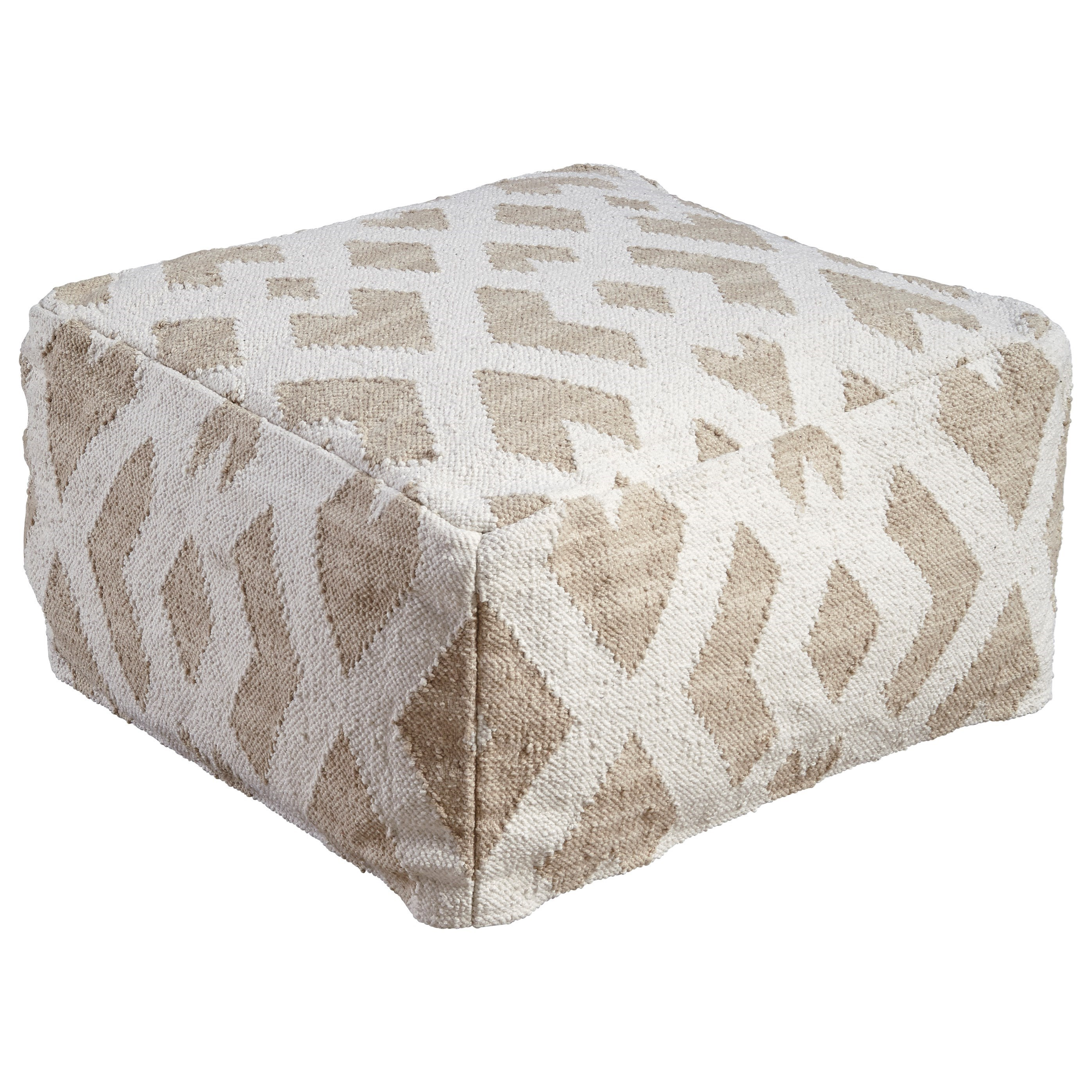 pouf design blanc 20170629203158. Black Bedroom Furniture Sets. Home Design Ideas