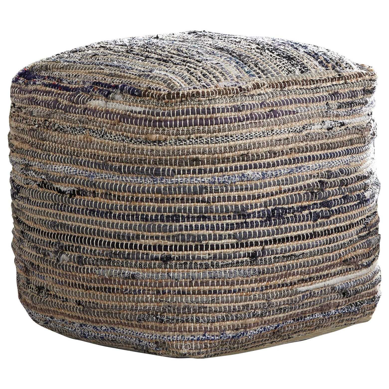 Poufs Absalom - Natural Pouf by Signature Design by Ashley at Furniture Barn