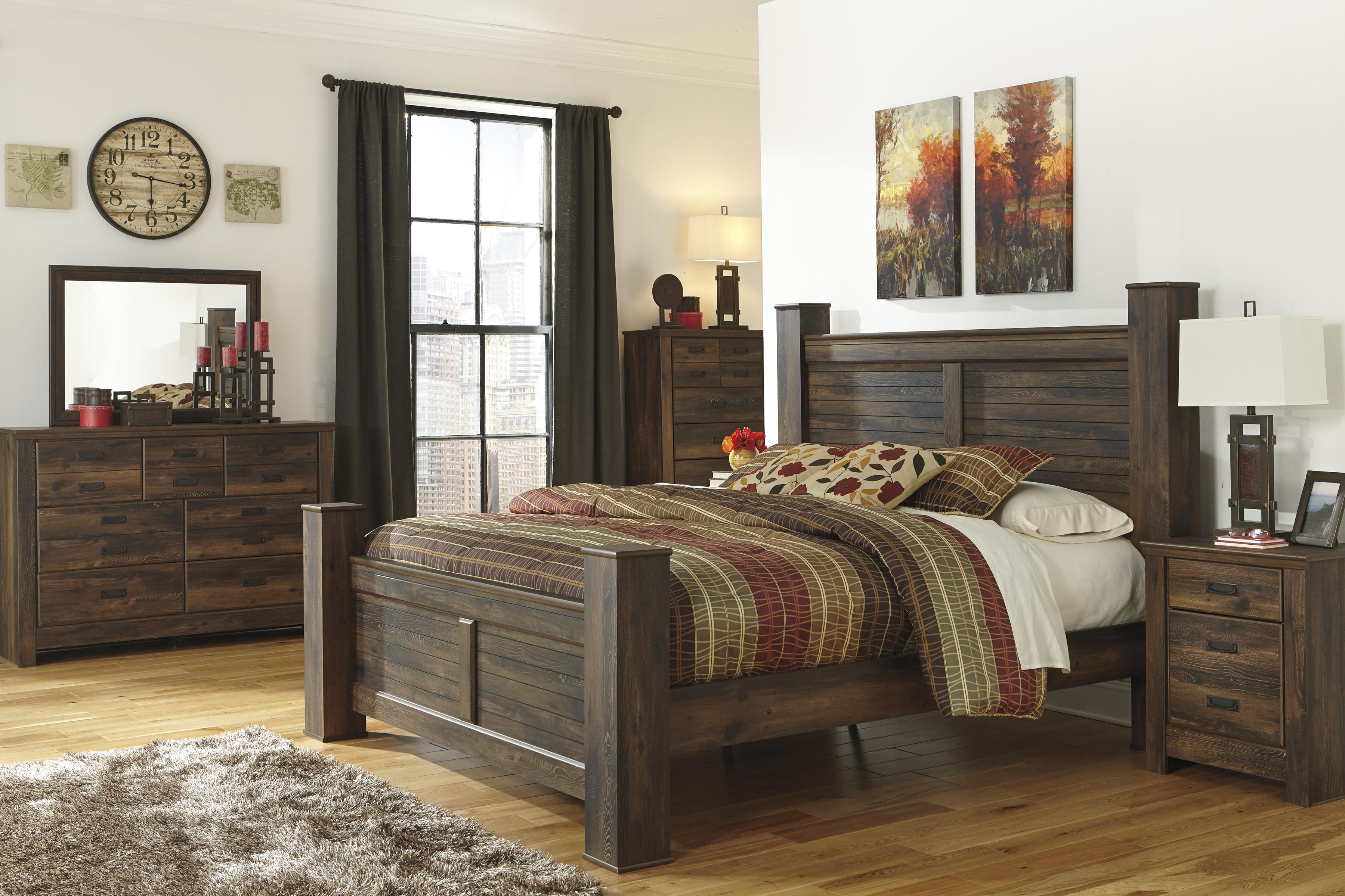 Signature Design By Ashley Quinden King Bedroom Group Olinde 39 S Furniture Bedroom Groups