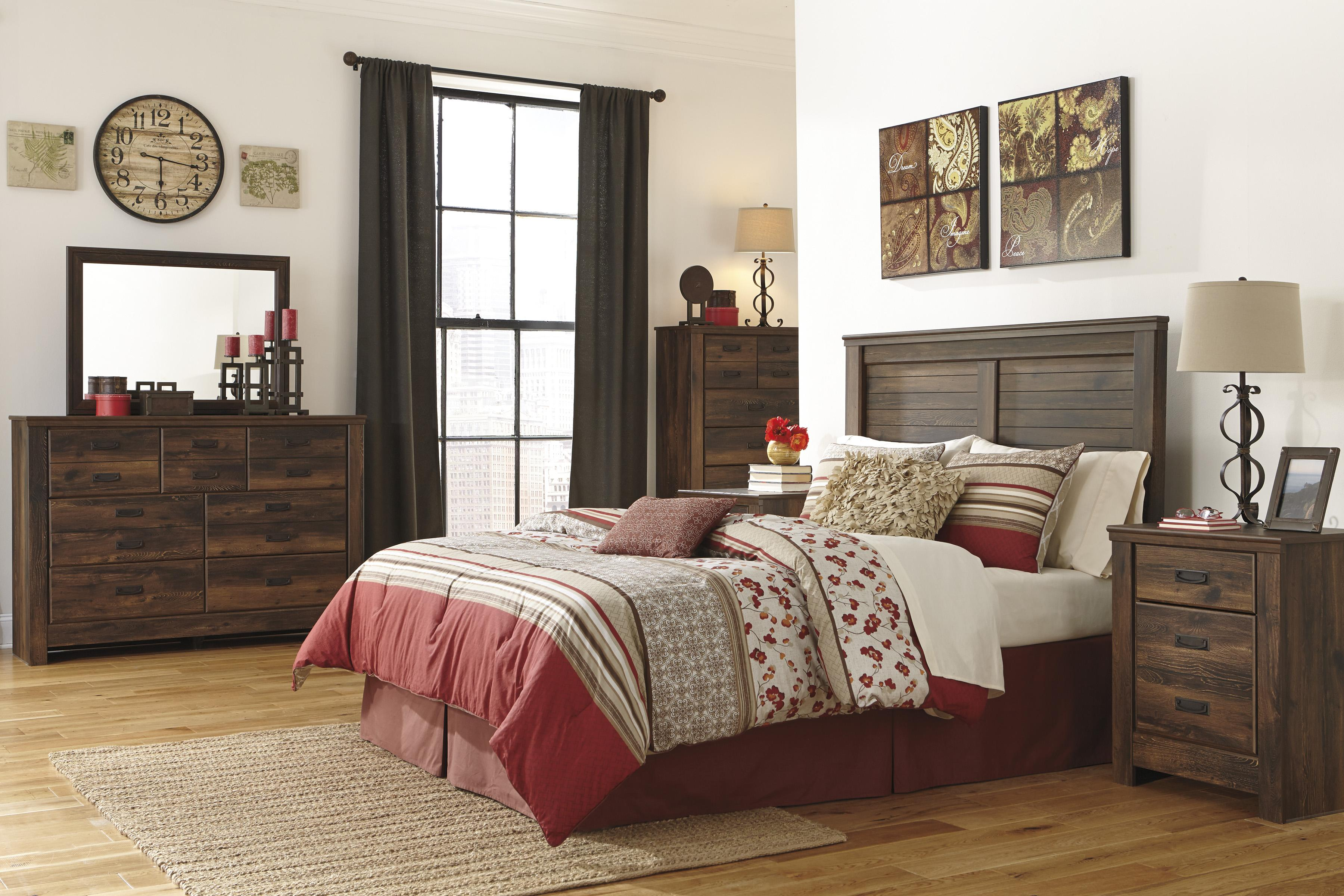 signature design by ashley quinden queen bedroom group olinde 39 s furniture bedroom groups. Black Bedroom Furniture Sets. Home Design Ideas