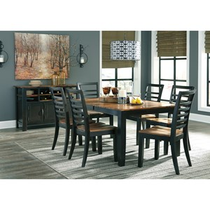 Dining room furniture furniture and appliancemart for Wine and design west ashley