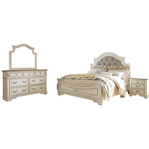 Signature Design By Ashley Realyn King Bedroom Group Zak
