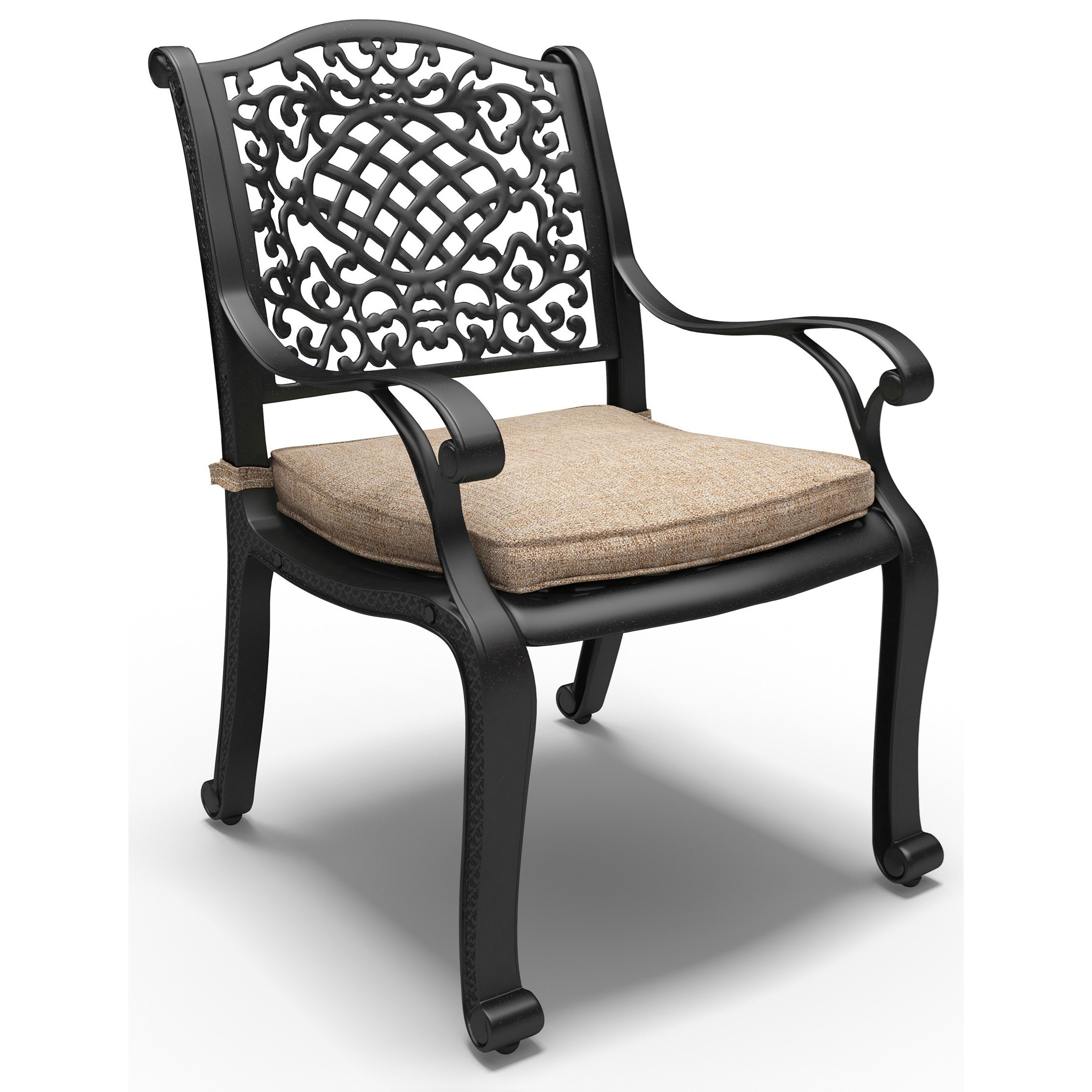 Signature design by ashley rose view set of 2 arm chairs for Outdoor furniture hwy 7